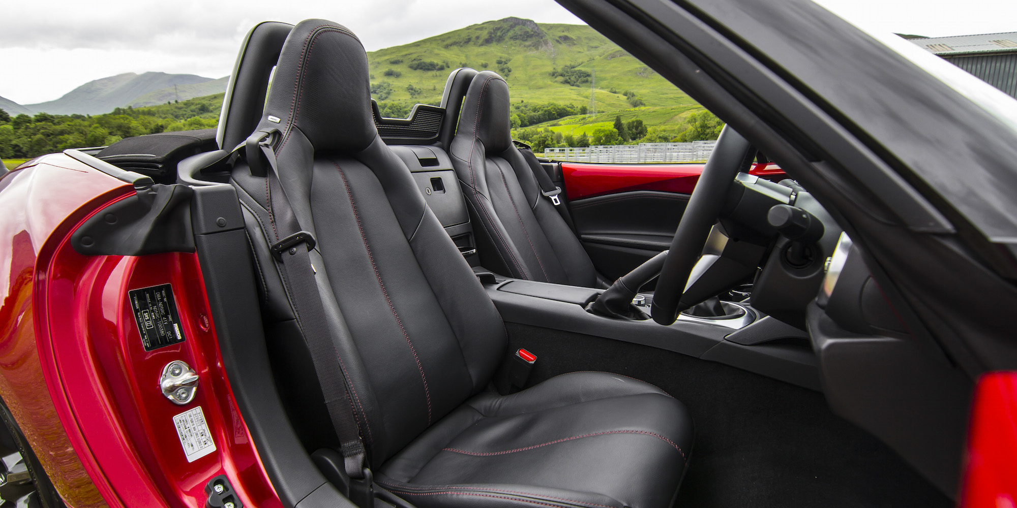 2016 Mazda Mx 5 Cockpit Seats Interior (Photo 16 of 31)