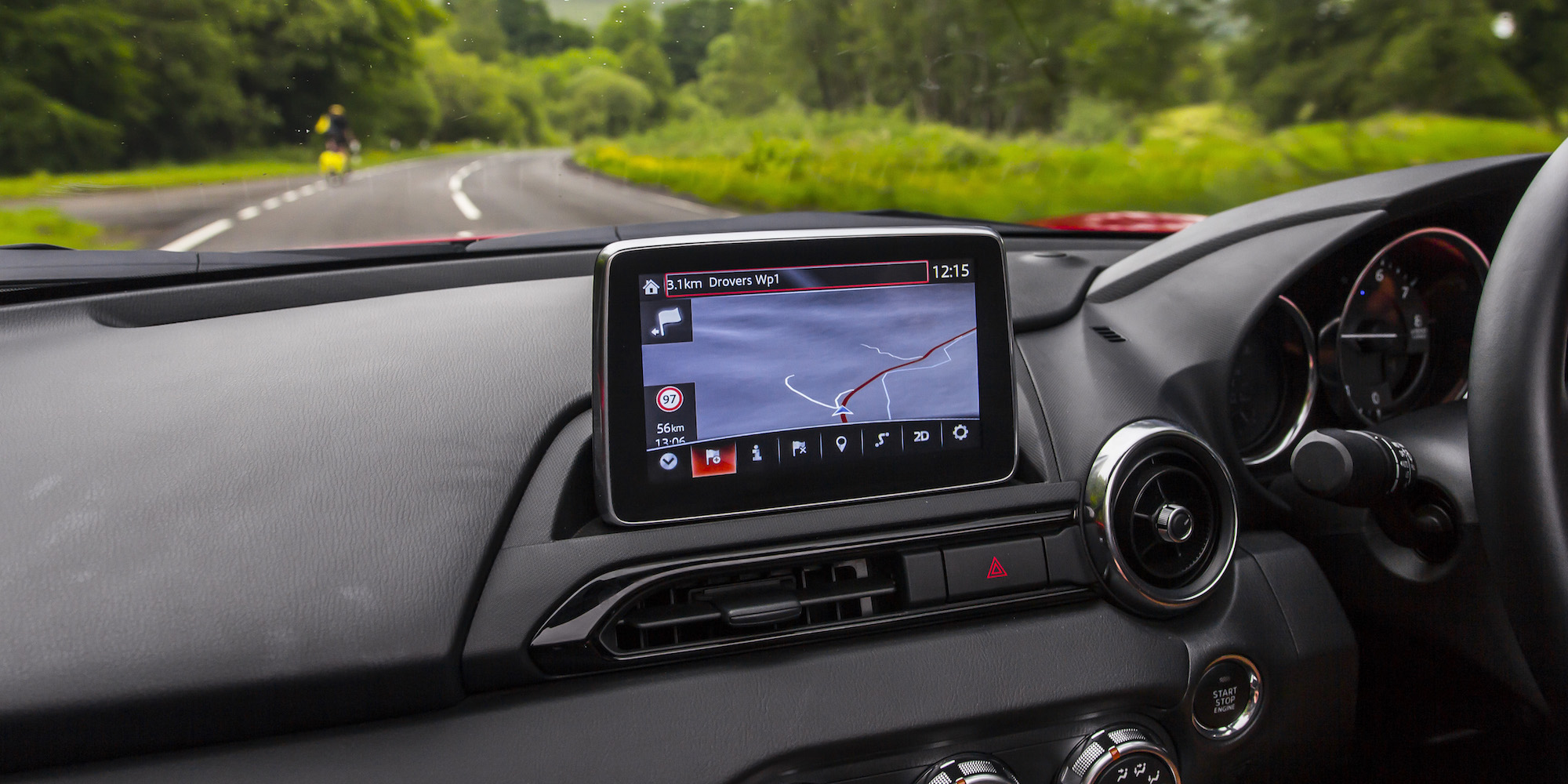 2016 Mazda Mx 5 Head Unit (Photo 22 of 31)