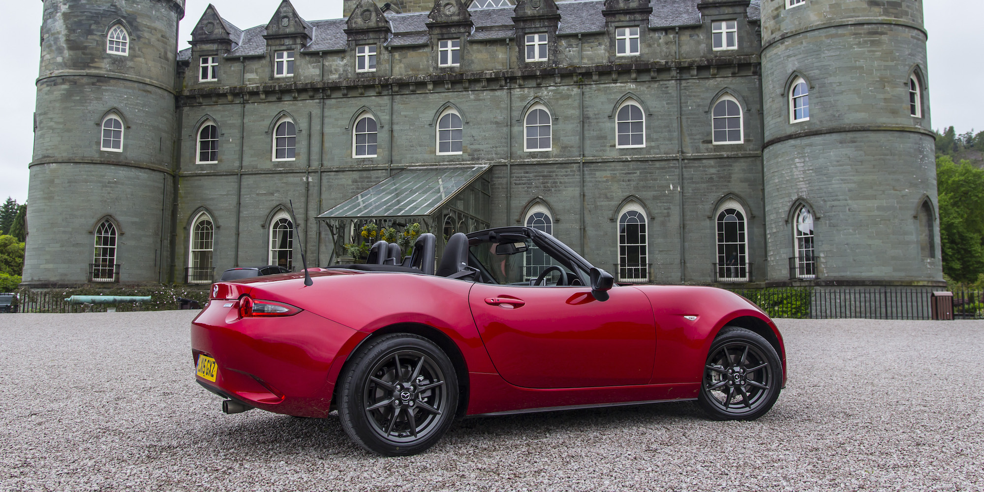 2016 Mazda Mx 5 Rear Side View (View 6 of 31)