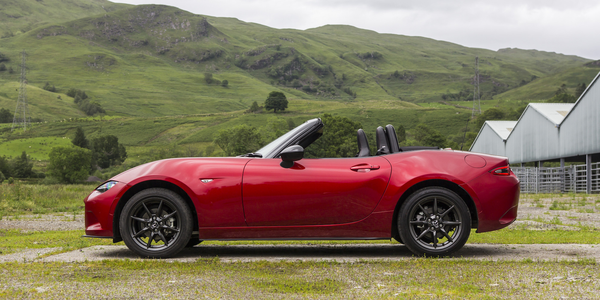 2016 Mazda Mx 5 Side Exterior (View 8 of 31)
