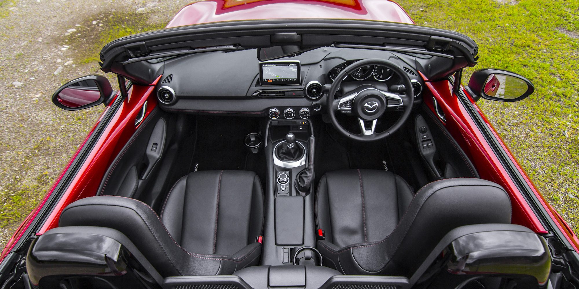 2016 Mazda Mx 5 Top View Interior (Photo 30 of 31)