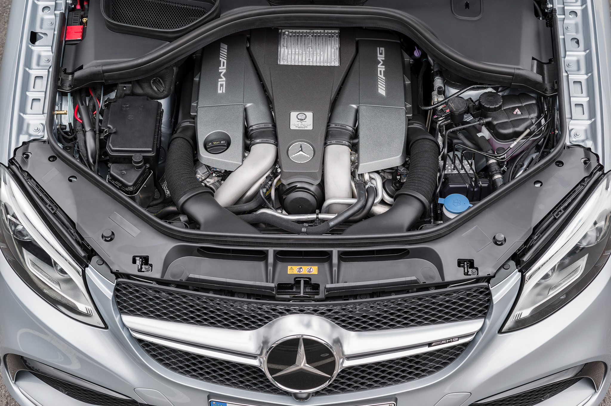 2016 Mercedes Benz Amg Gle63s 4matic Coupe Engine (Photo 1 of 8)