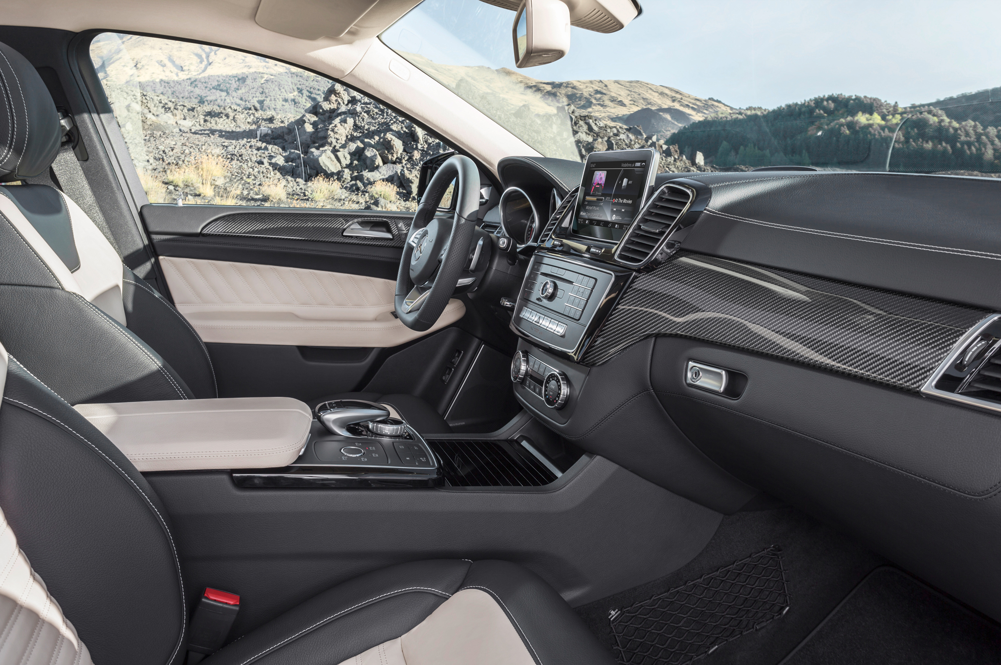 2016 Mercedes Benz Amg Gle63s Coupe Front Interior Profile (Photo 8 of 8)