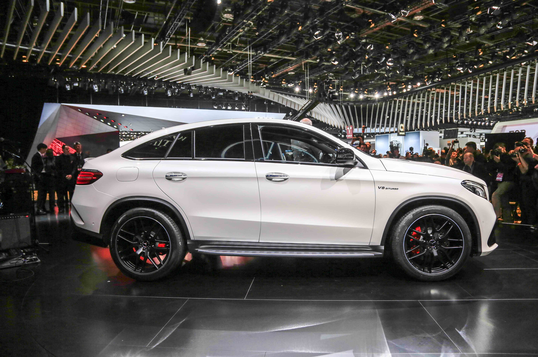 2016 Mercedes Benz Amg Gle63s Coupe Side Photo (Photo 7 of 8)