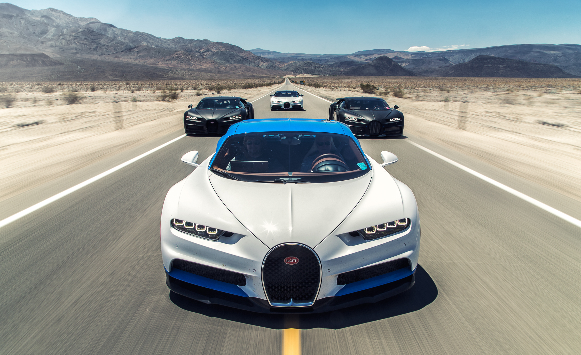 2017 Bugatti Chirons (Photo 5 of 5)