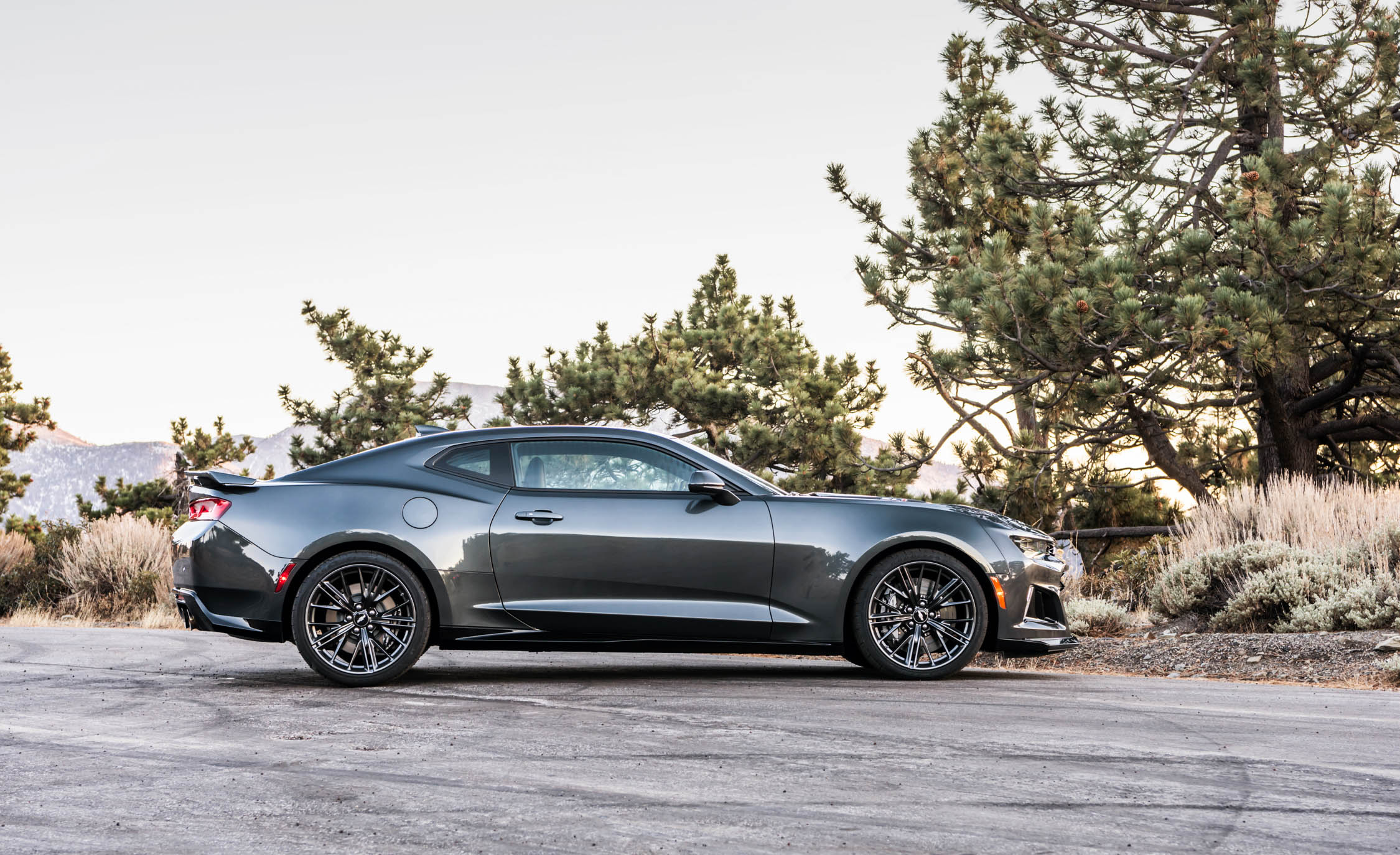2017 Chevrolet Camaro ZL1 Grey Exterior Side (Photo 12 of 62)