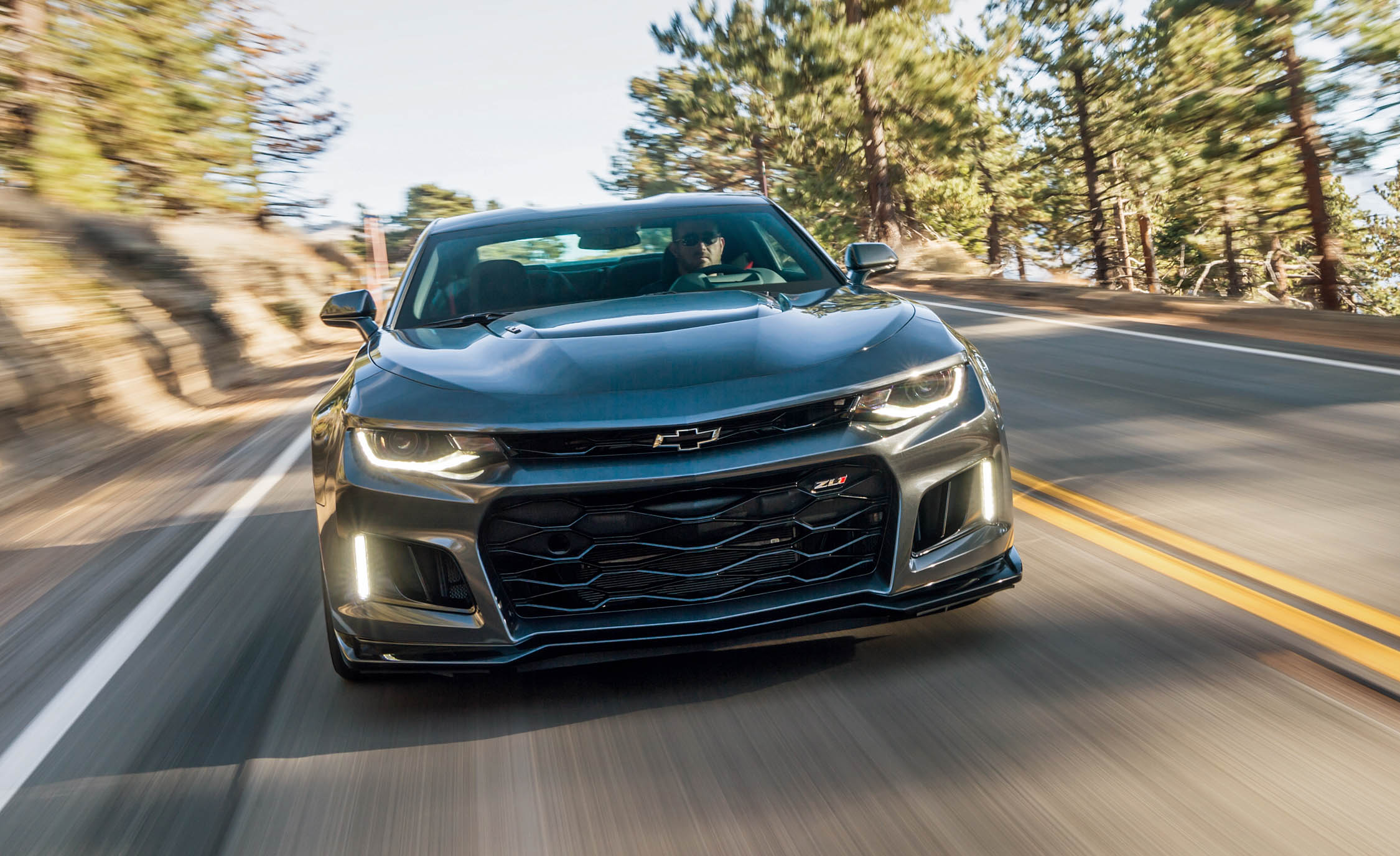 2017 Chevrolet Camaro ZL1 Grey Test Drive Front Corner (Photo 17 of 62)