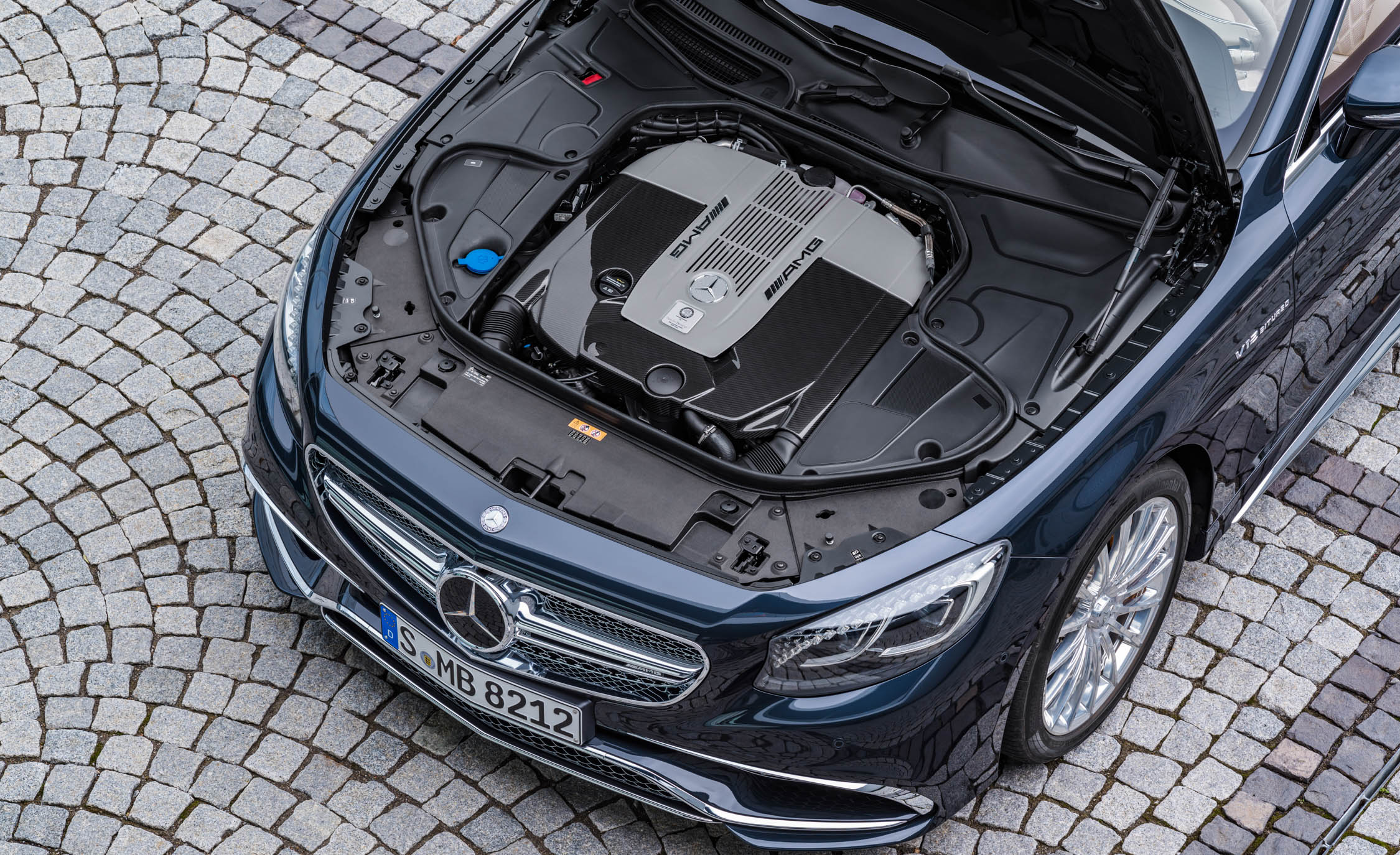 2017 Mercedes Amg S65 Cabriolet View Engine (View 7 of 15)