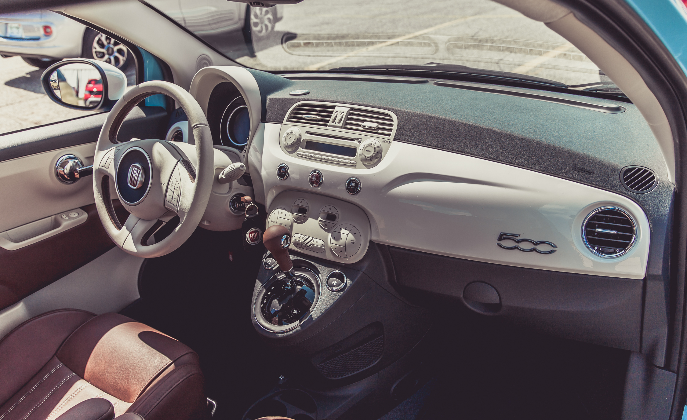 2014 Fiat 500 1957 Edition Interior (View 2 of 12)