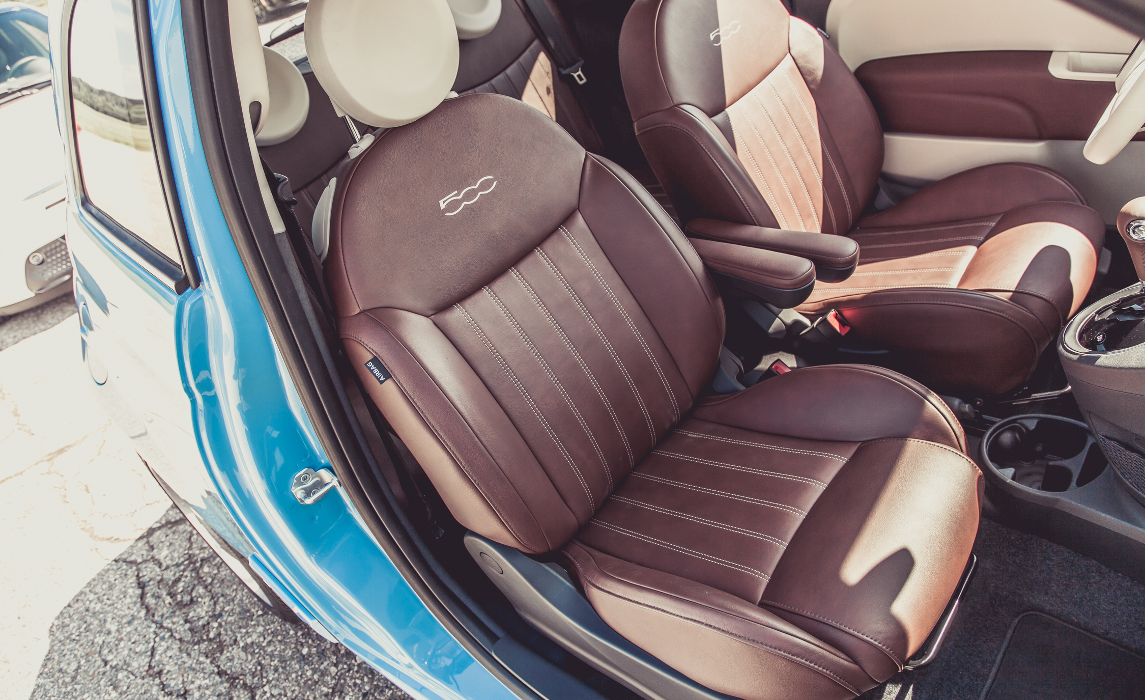 2014 Fiat 500 1957 Edition Interior (View 3 of 12)