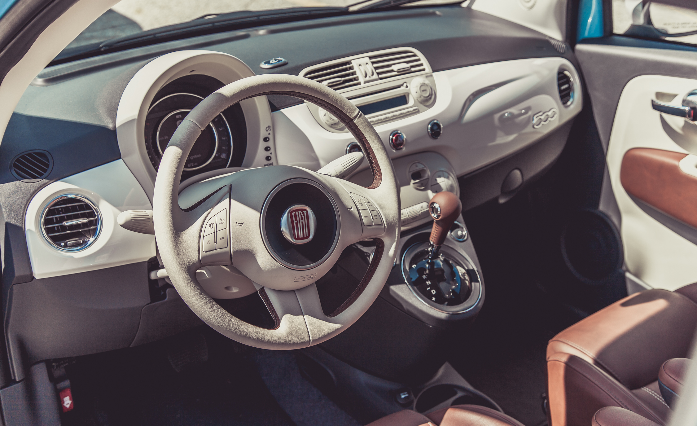 2014 Fiat 500 1957 Edition Interior (View 1 of 12)
