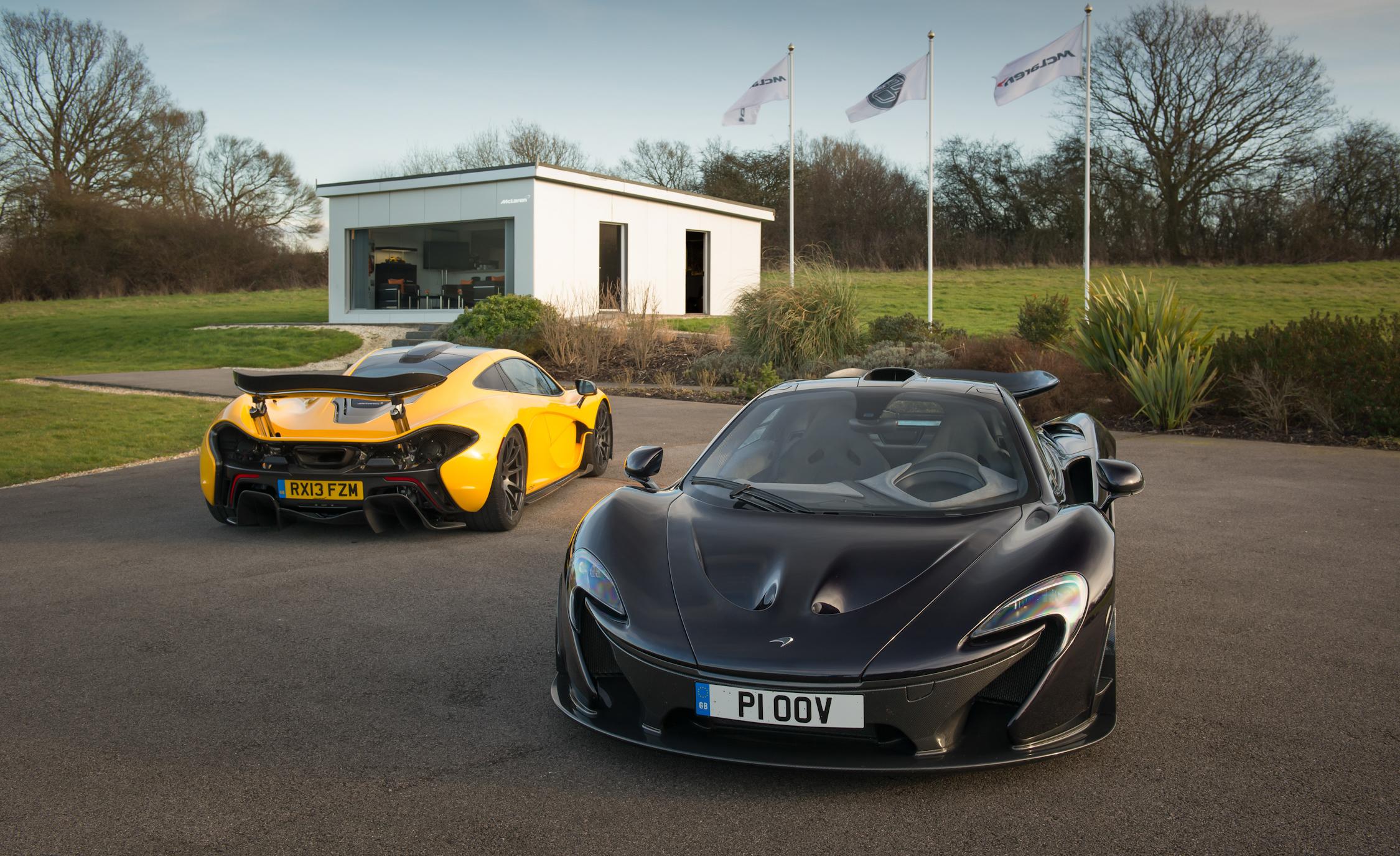 2014 McLaren P1s (View 5 of 53)