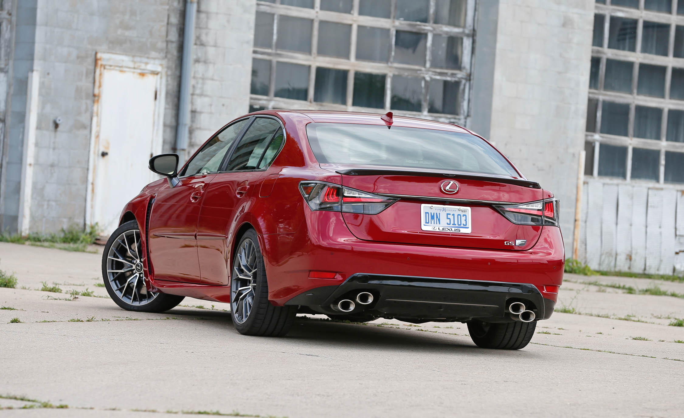 2016 Lexus Gs F Exterior Rear (Photo 19 of 20)