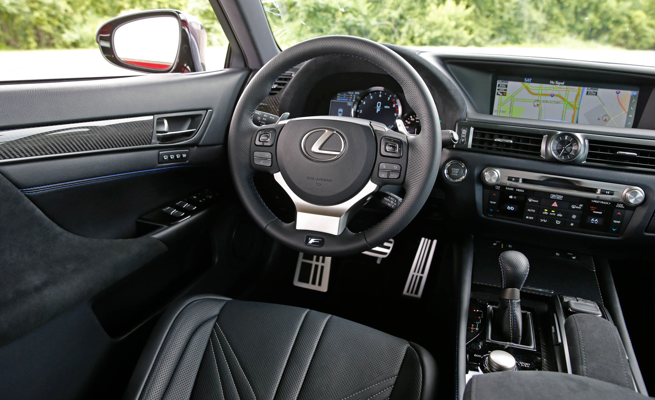 2016 Lexus Gs F Interior Cockpit (Photo 15 of 20)