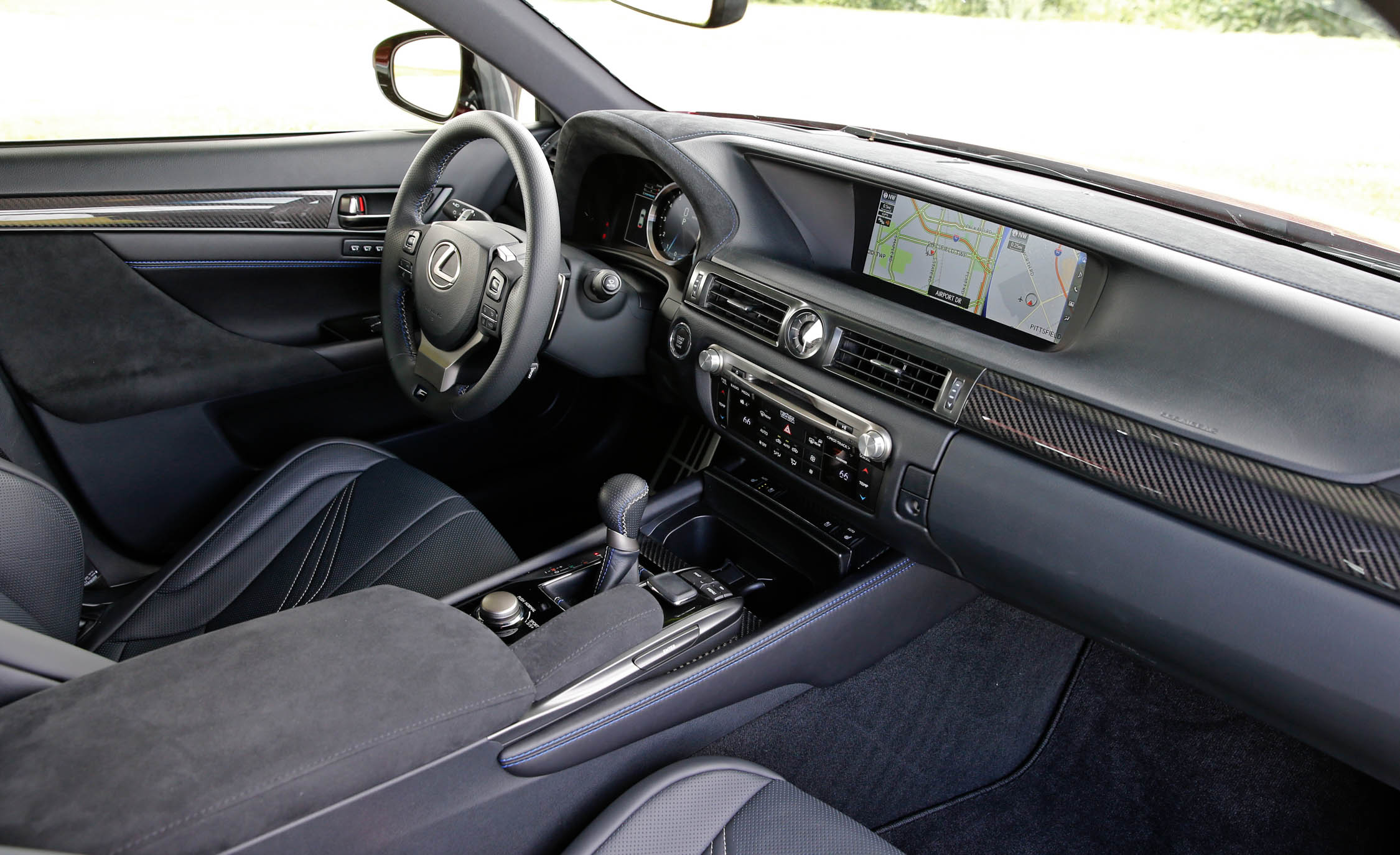 2016 Lexus Gs F Interior Dashboard (Photo 9 of 20)