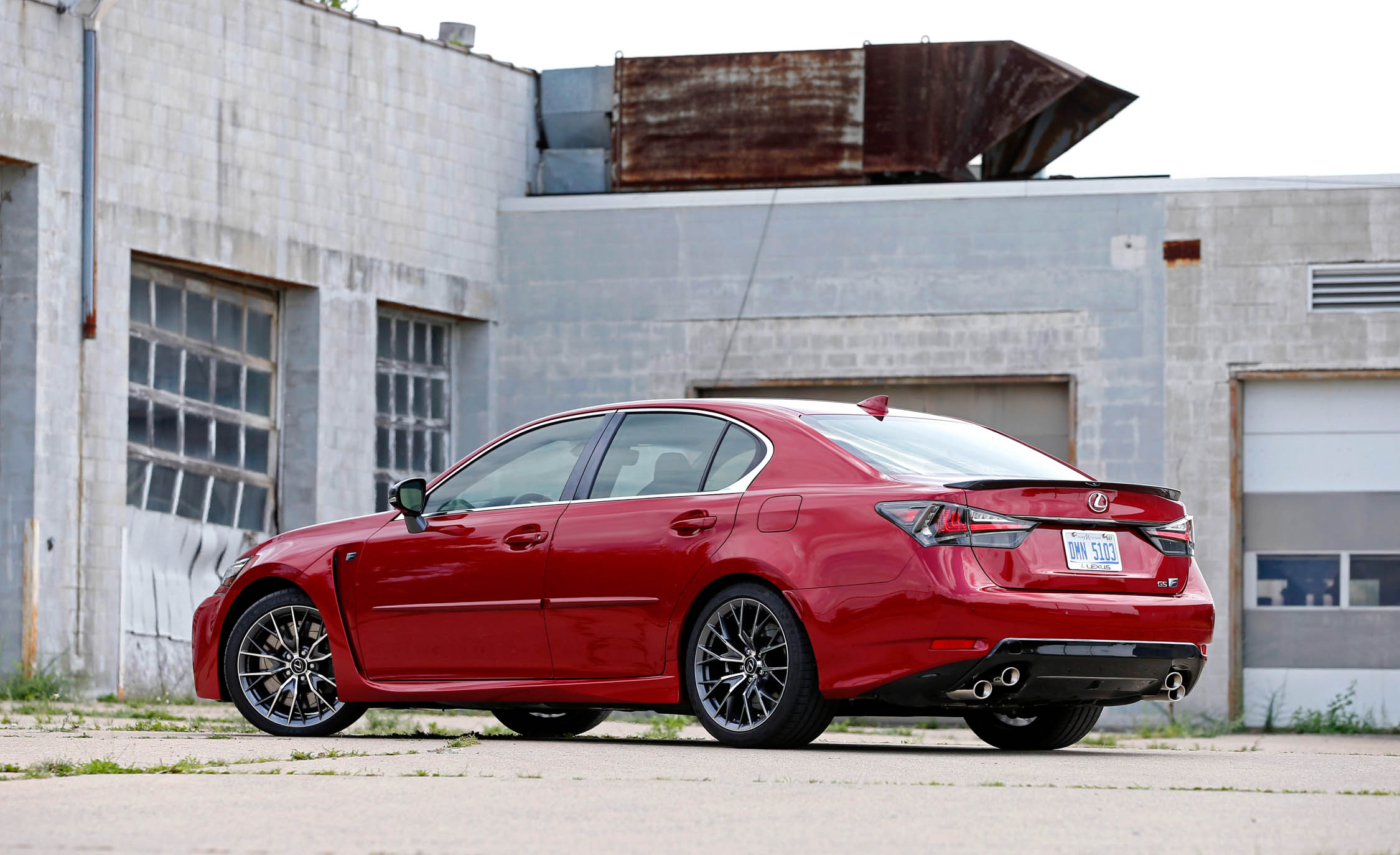 2016 Lexus Gs F Exterior Side And Rear (Photo 20 of 20)