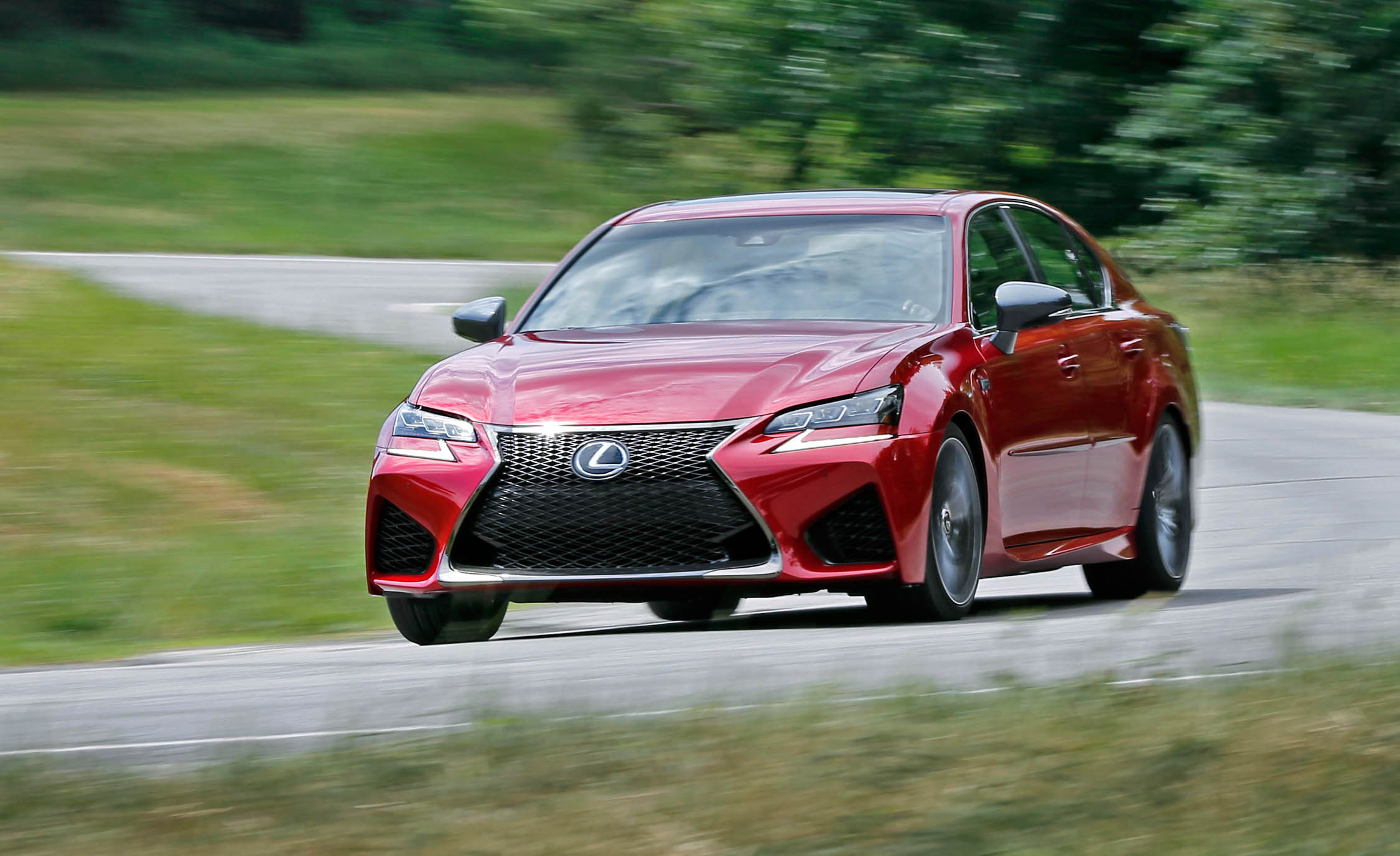 2016 Lexus Gs F Test Drive Front View (Photo 12 of 20)