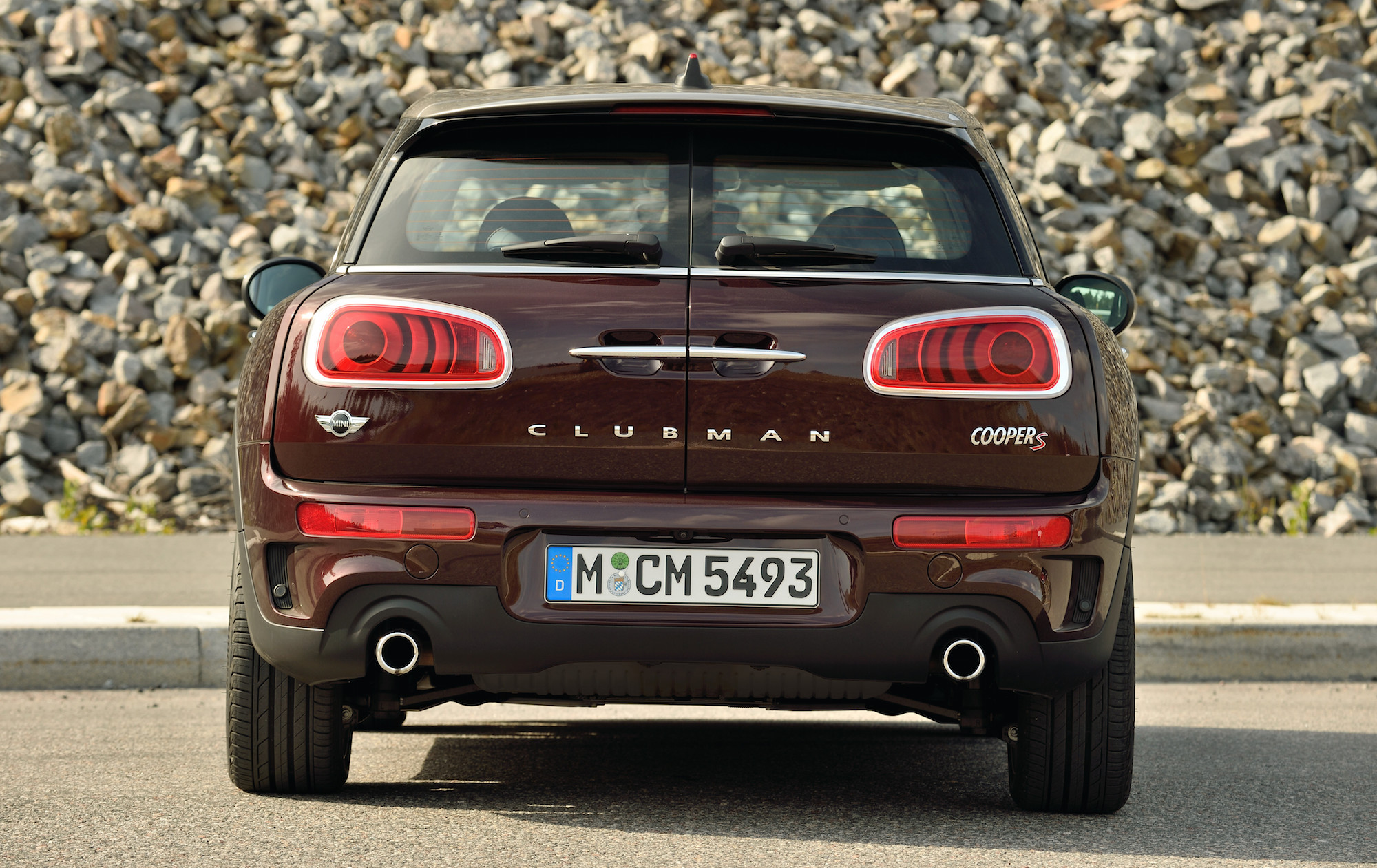 2016 Mini Cooper S Clubman Rear End (Photo 13 of 17)