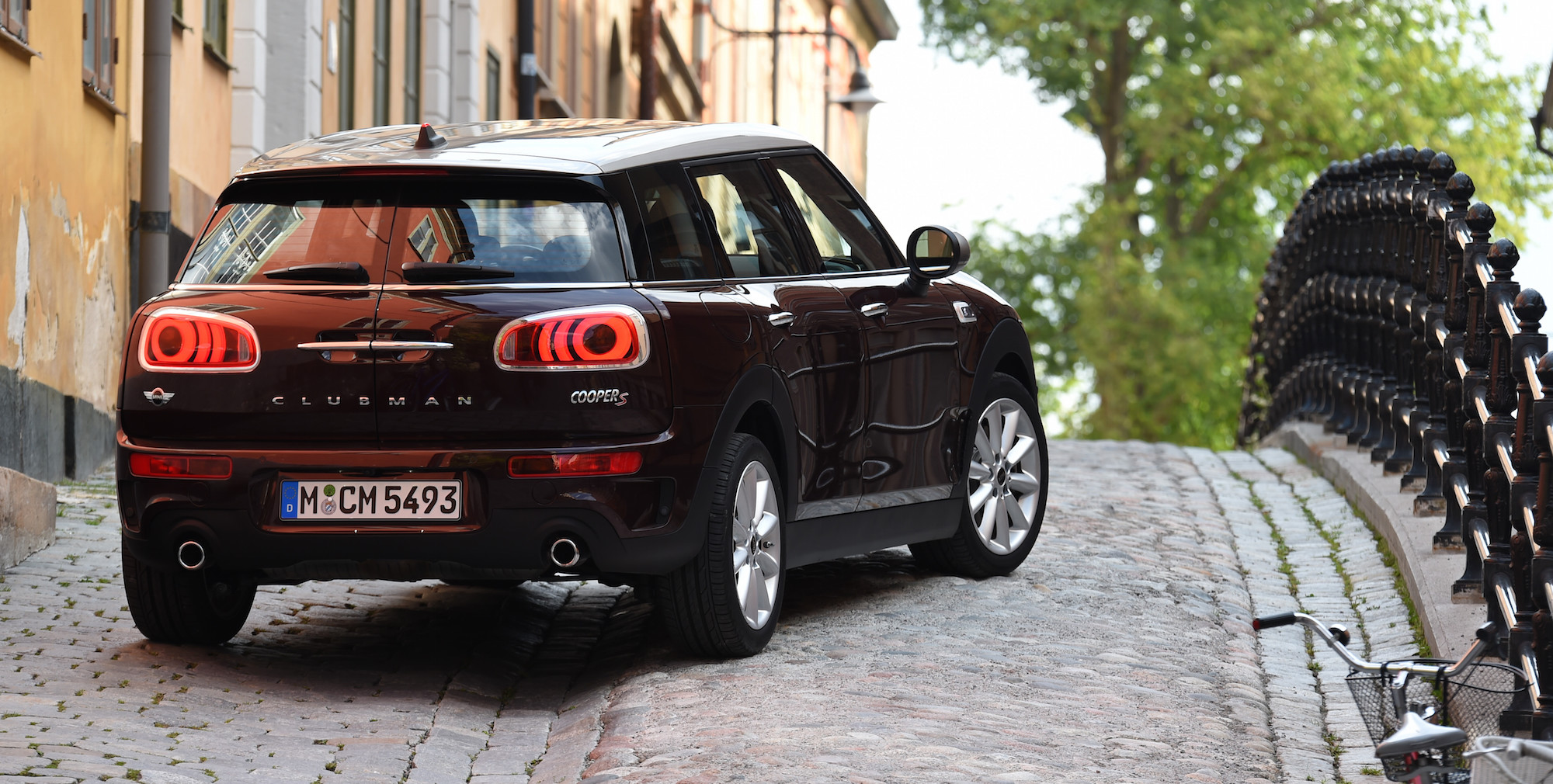 2016 Mini Cooper S Clubman Rear (Photo 12 of 17)