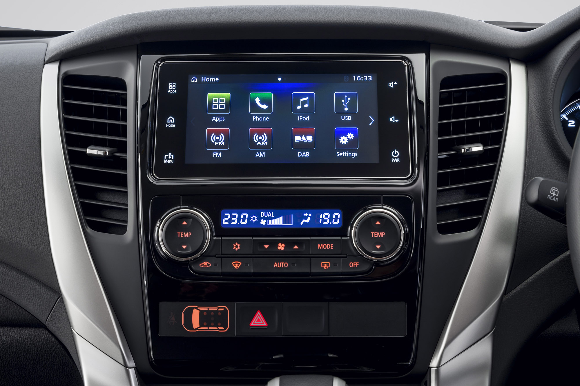 2016 Mitsubishi Pajero Sport Head Unit (Photo 8 of 23)