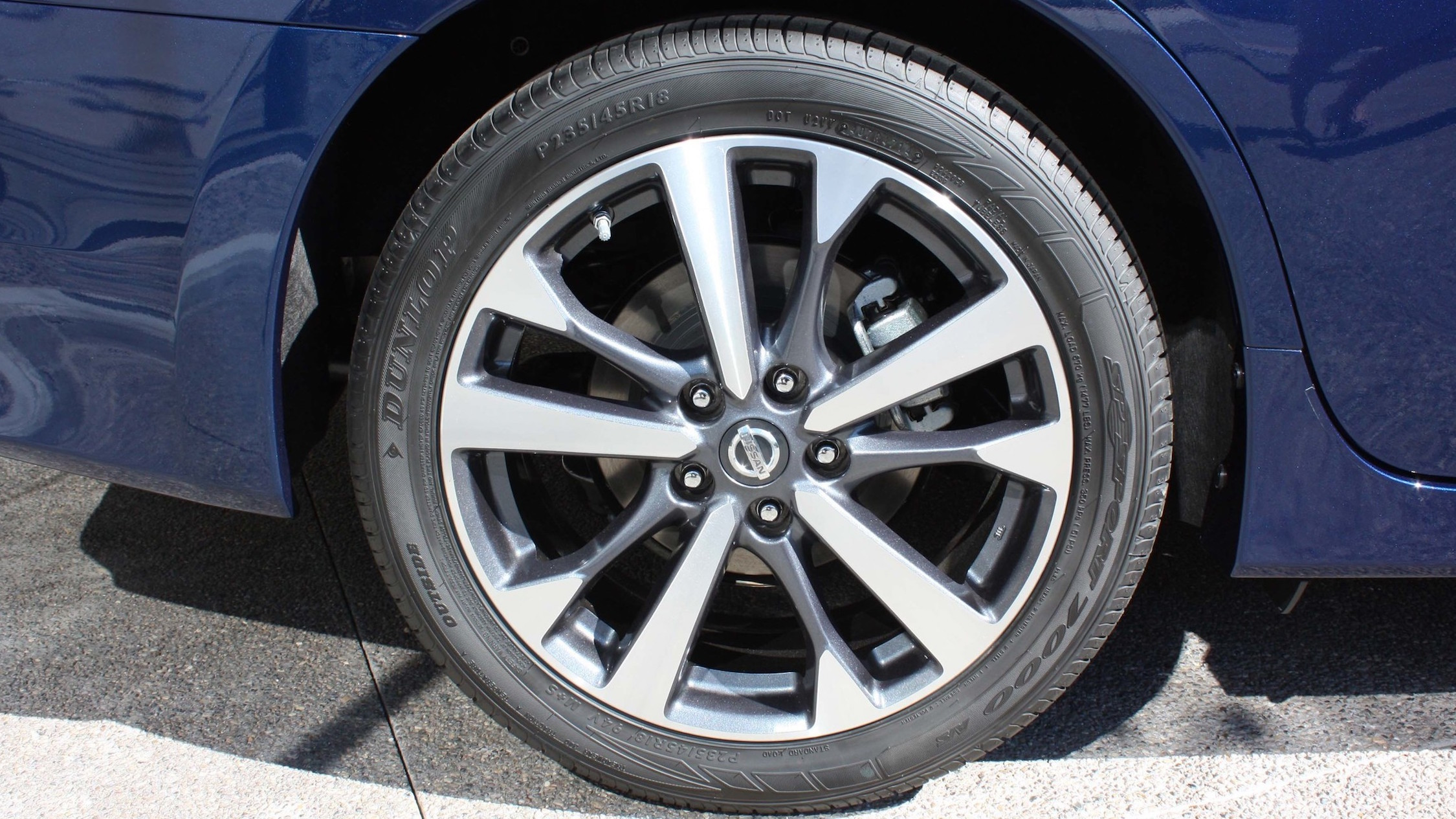 2016 Nissan Altima Exterior Wheel (View 3 of 20)