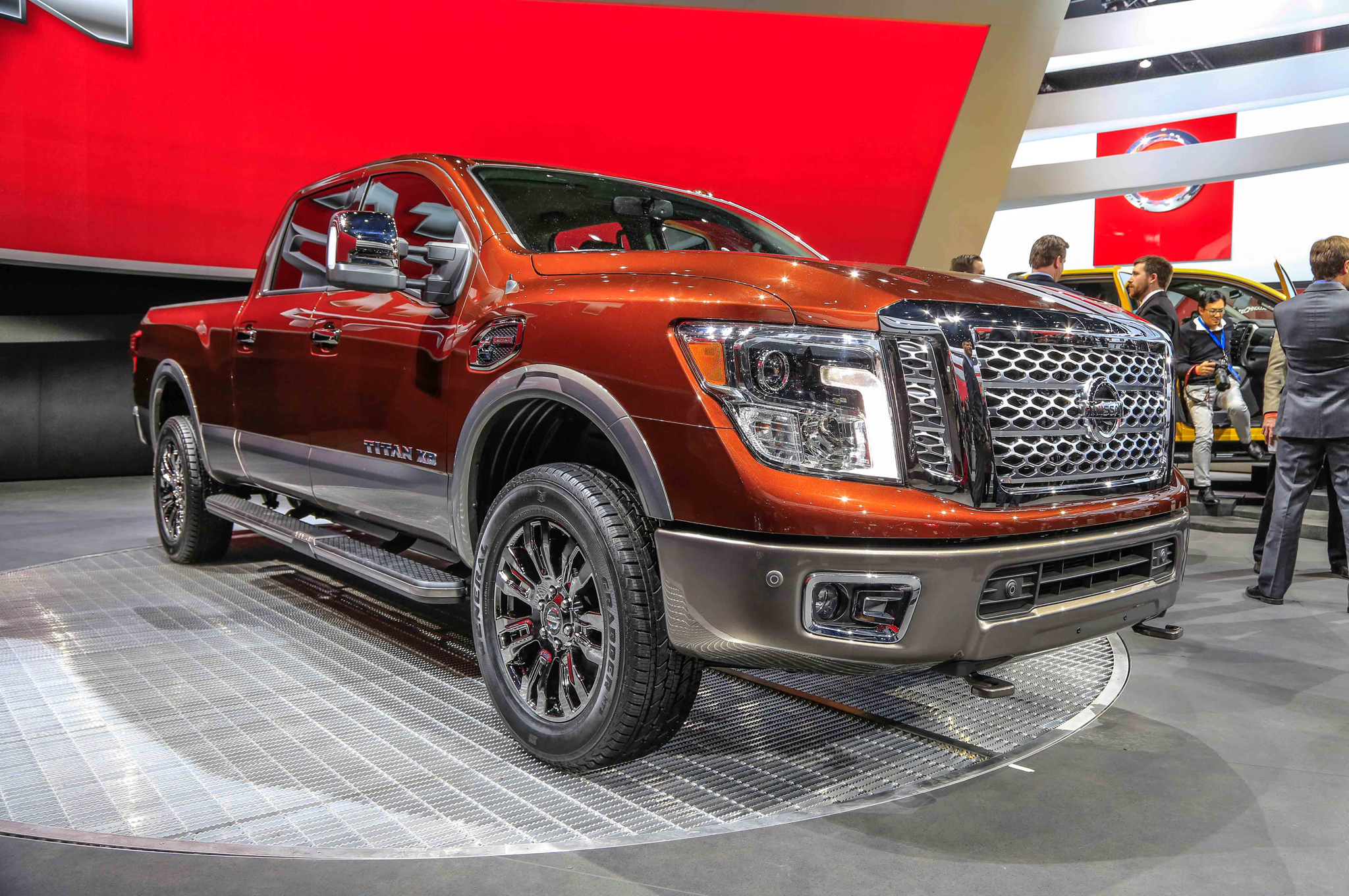 2016 Nissan Titan Exterior Preview (View 4 of 10)