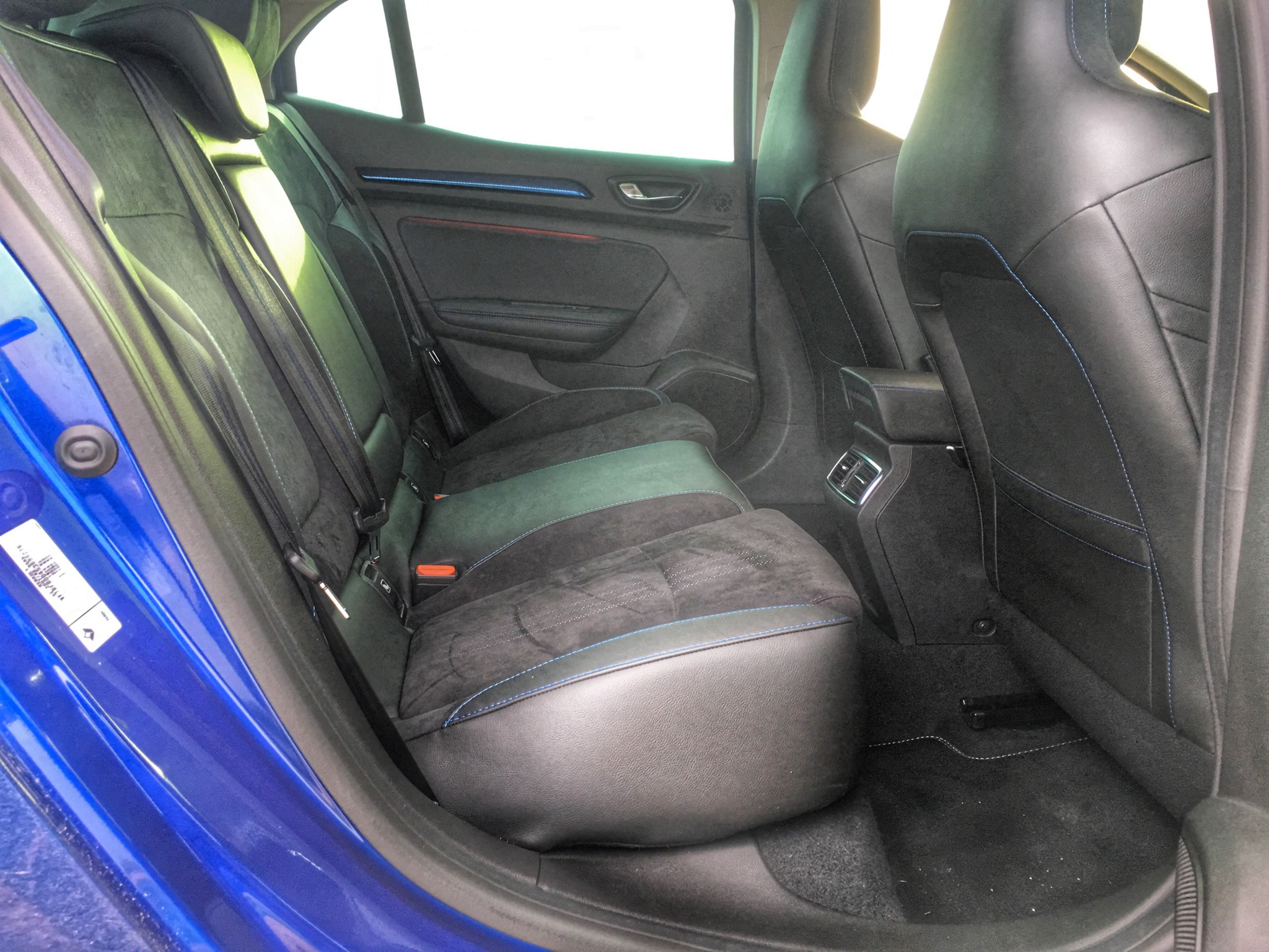 2016 Renault Megane Gt Rear Seats Interior (Photo 10 of 27)