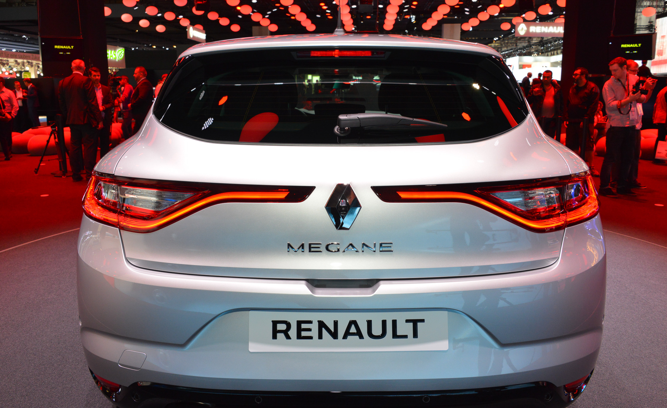 2016 Renault Megane Rear End Photo (Photo 16 of 27)