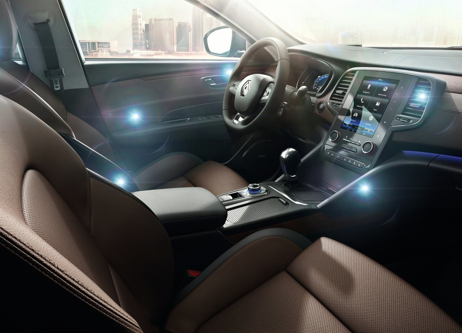 2016 Renault Talisman Front Seats Interior (View 10 of 14)