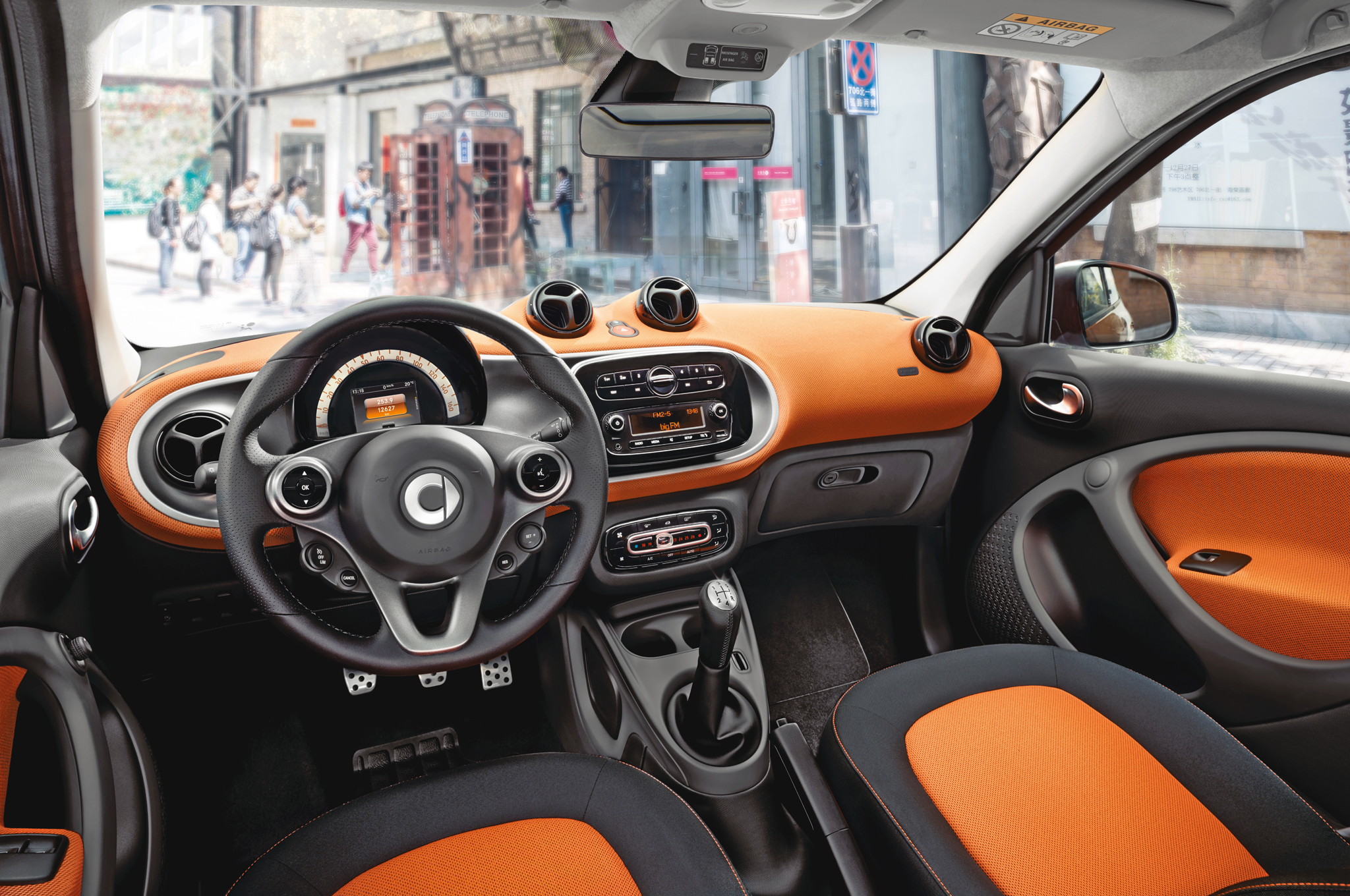 2016 Smart Fortwo Interior And Dashboard (Photo 4 of 17)