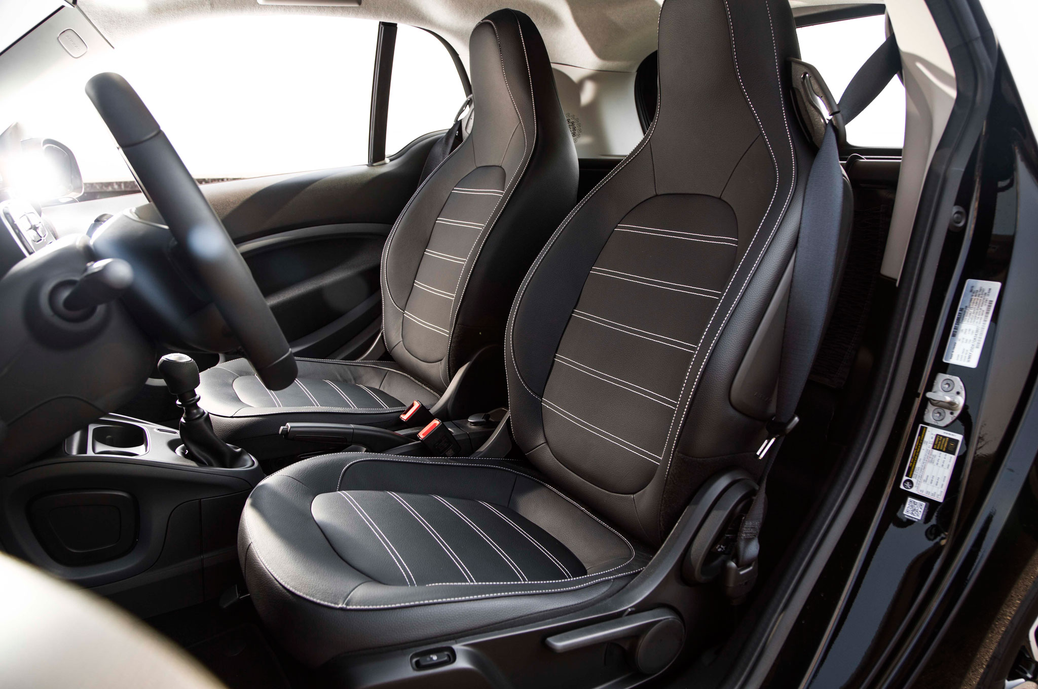 2016 Smart Fortwo Seats Interior (Photo 8 of 17)