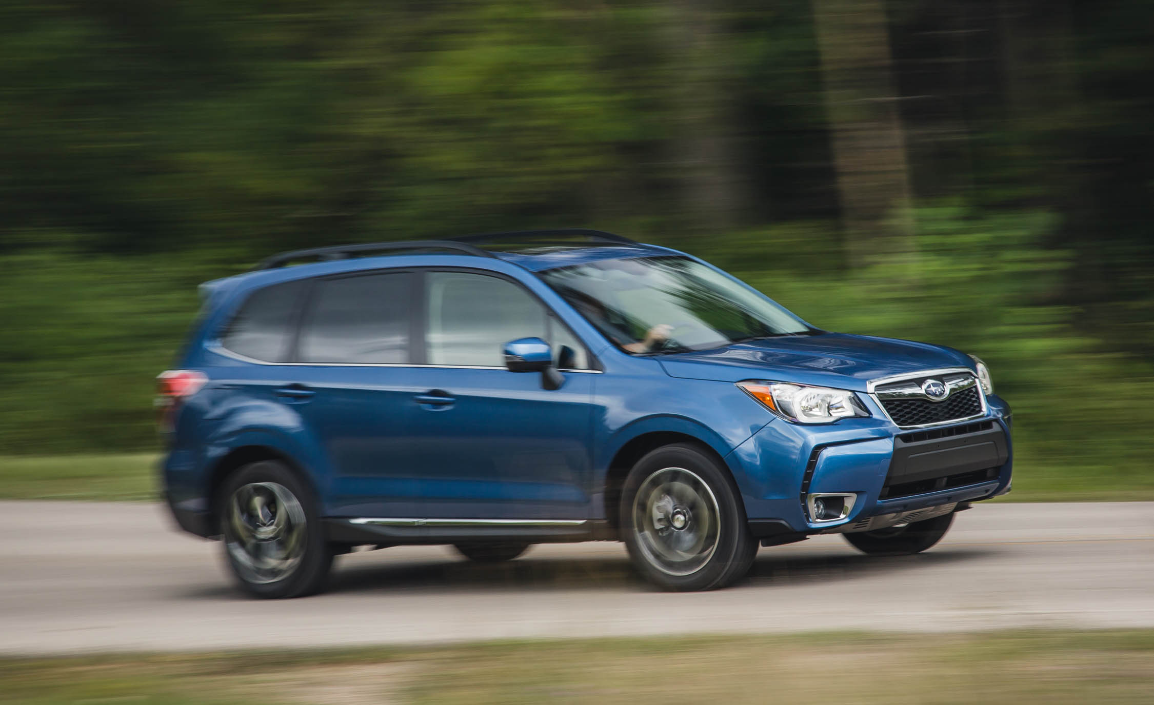 2016 Subaru Forester 2 0xt Touring Test Front And Side View (Photo 27 of 29)