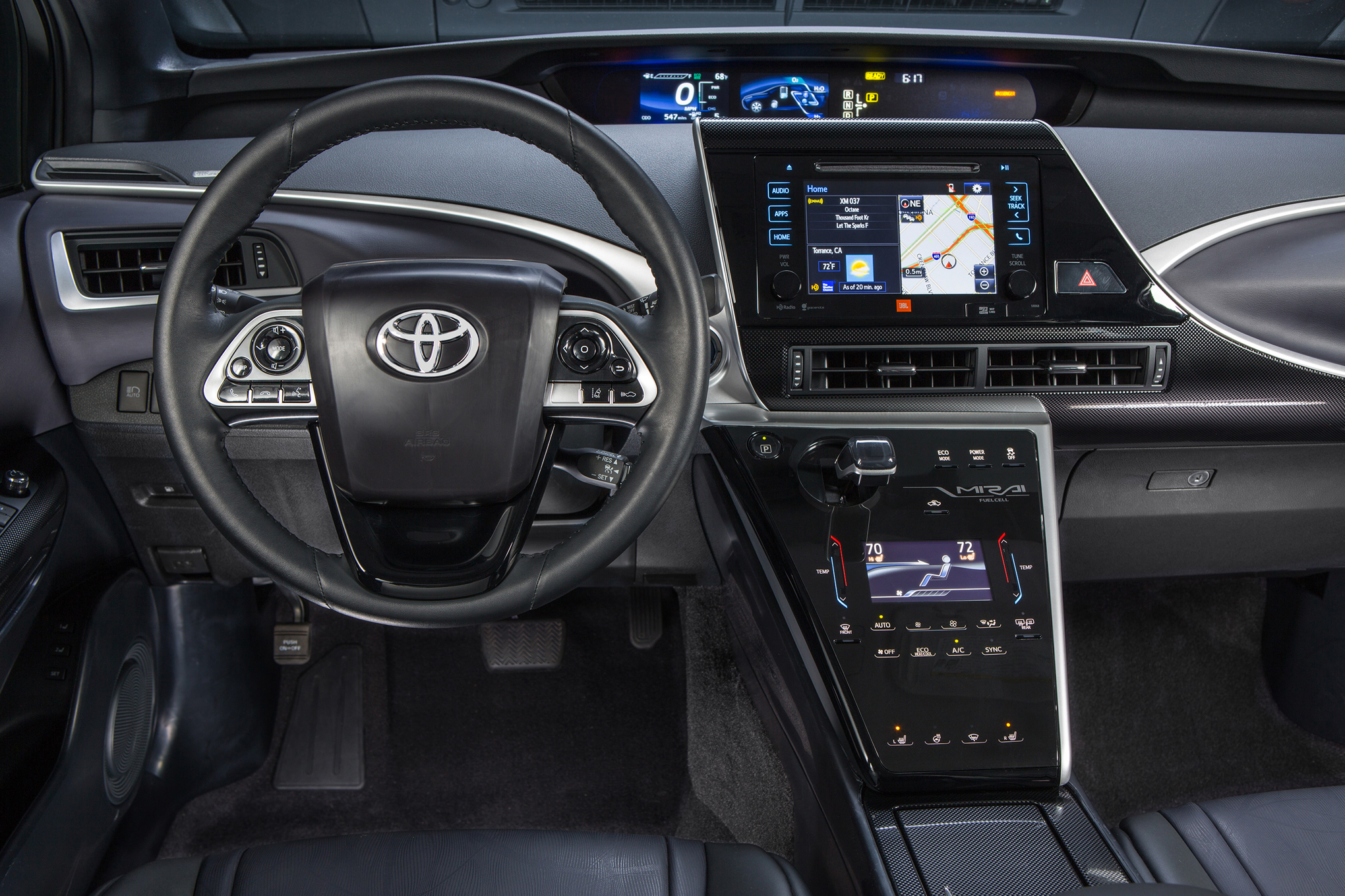 2016 Toyota Mirai Cockpit And Speedometer (View 10 of 18)