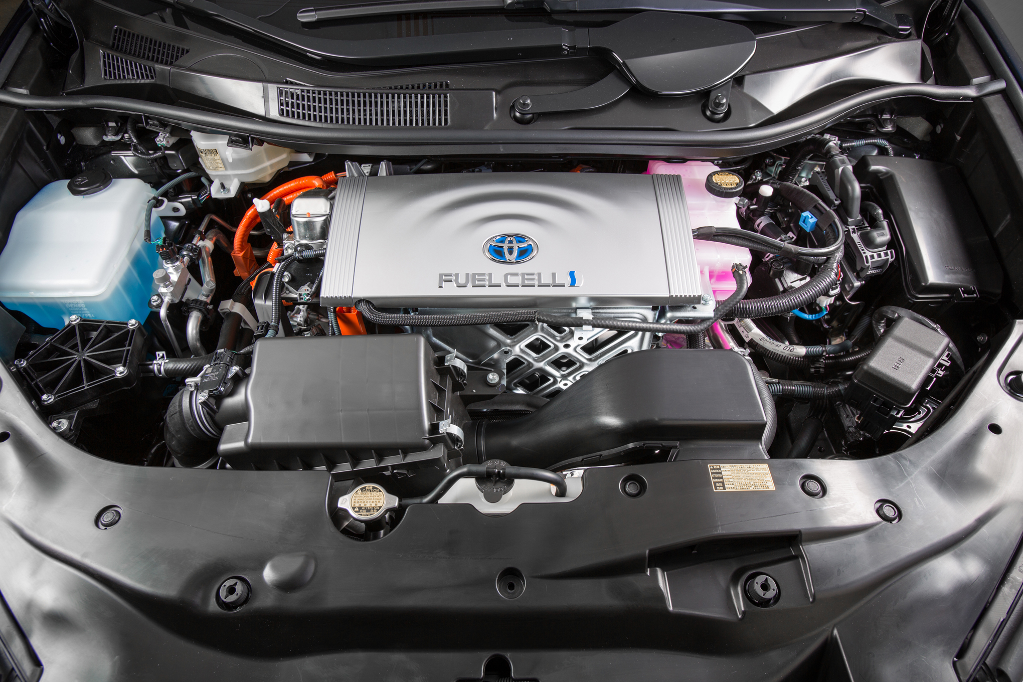 2016 Toyota Mirai Engine View (View 11 of 18)
