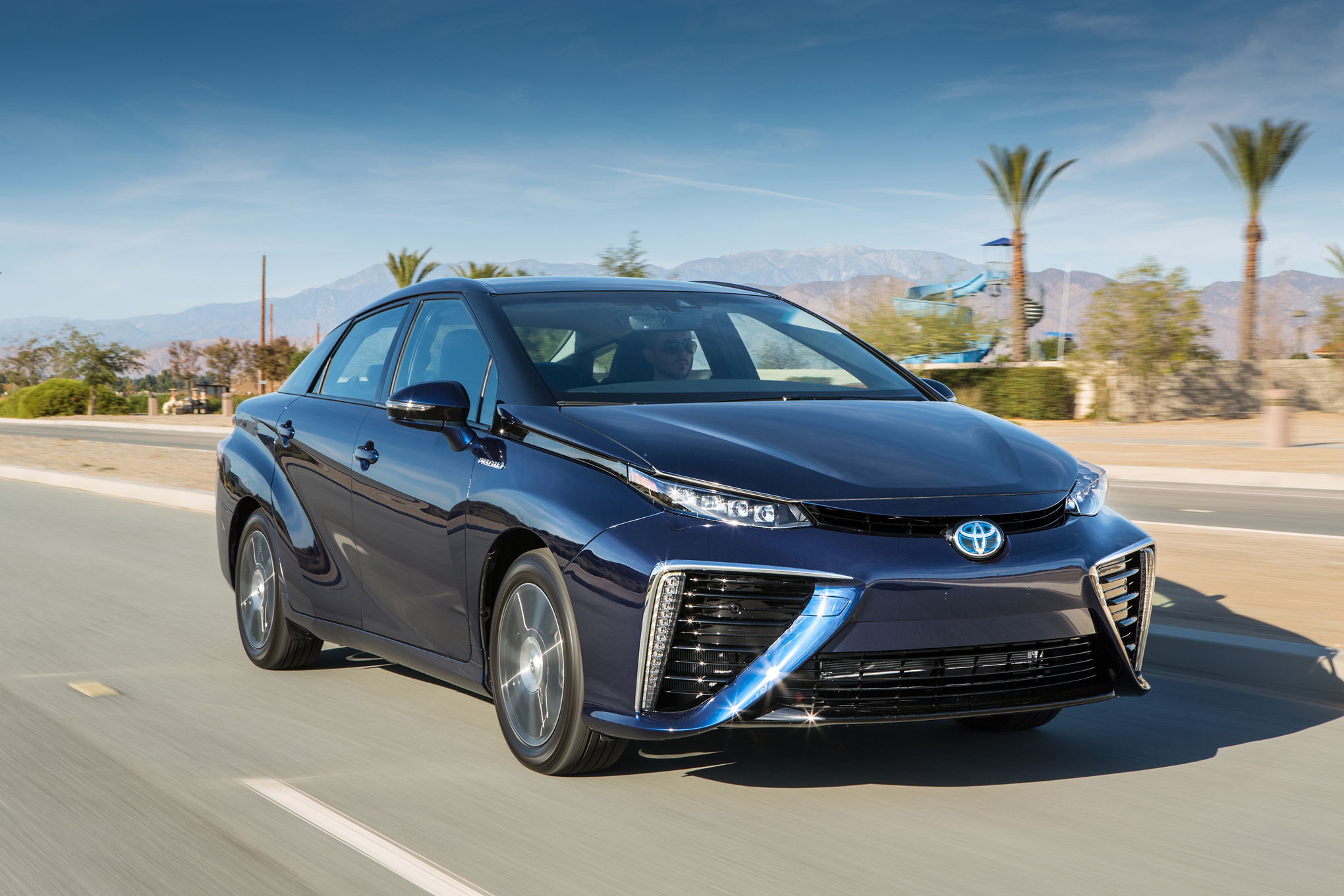 2016 Toyota Mirai Exterior Profile (View 12 of 18)