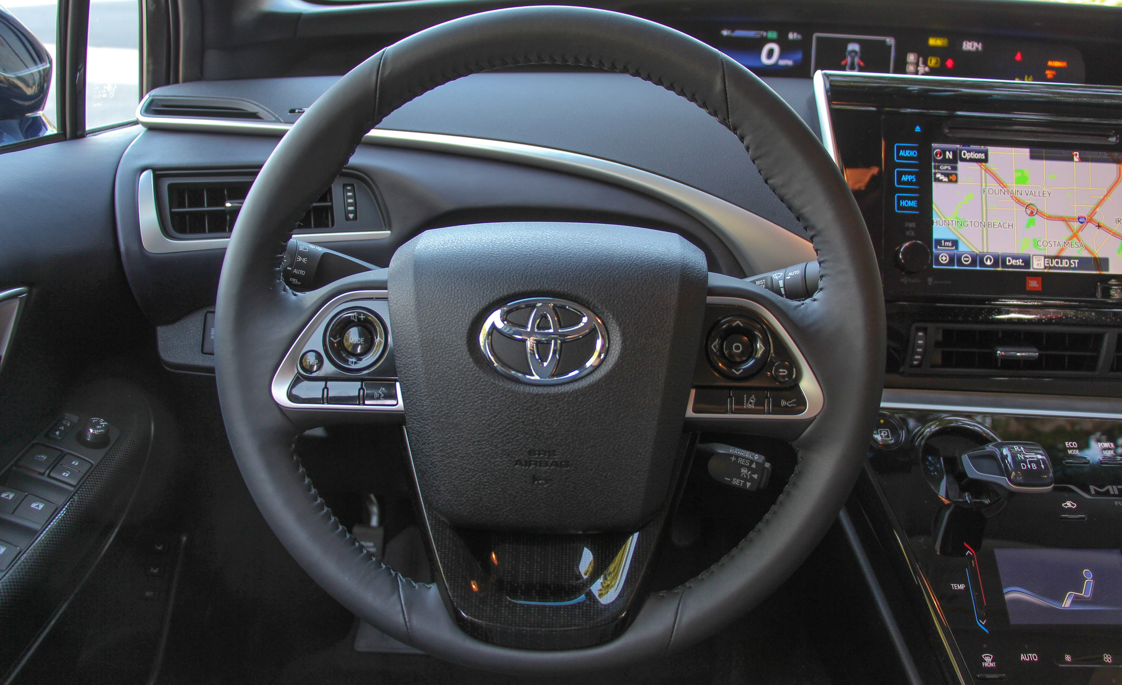 2016 Toyota Mirai Interior Steering (View 18 of 18)