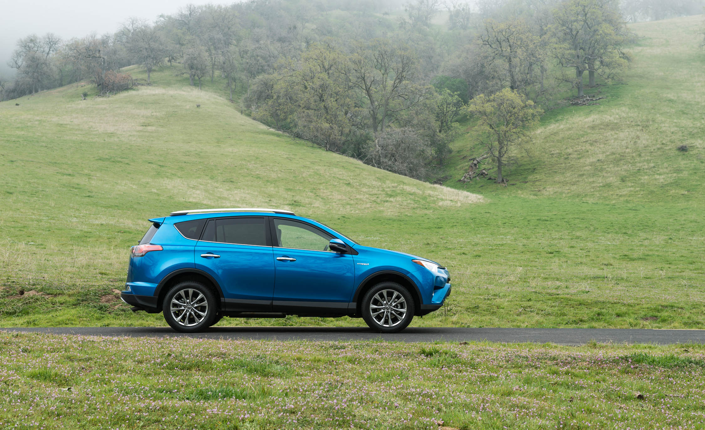 2016 Toyota Rav4 Hybrid Exterior Side (Photo 11 of 26)