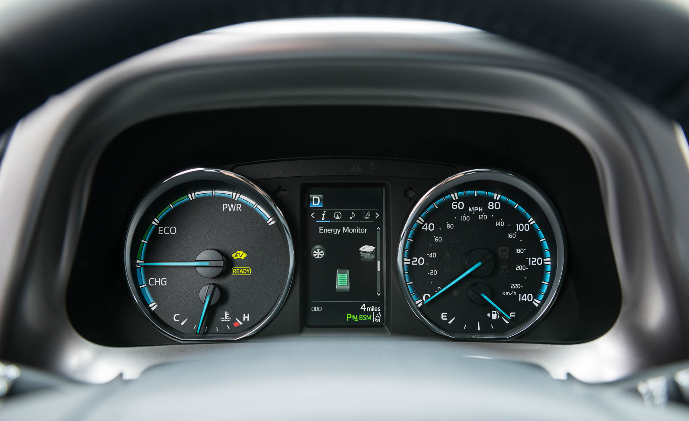 2016 Toyota Rav4 Hybrid Interior Speedometer (Photo 21 of 26)