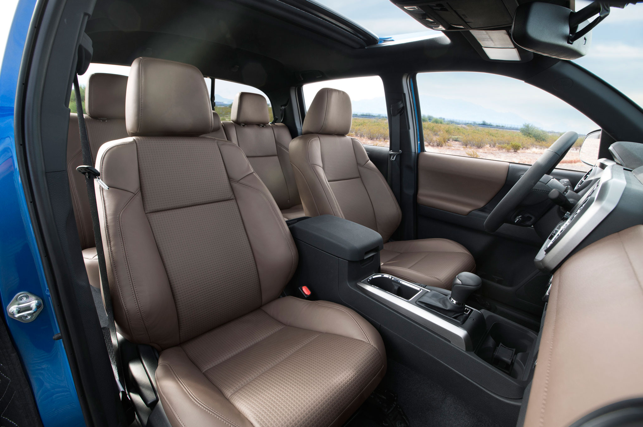 2016 Toyota Tacoma Limited Interior Seats Preview (Photo 8 of 10)