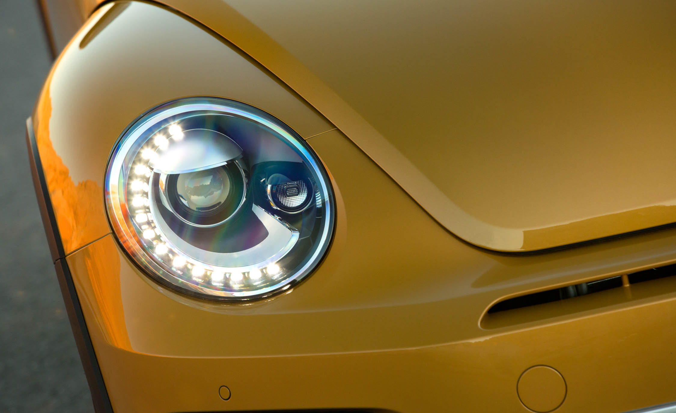2016 Volkswagen Beetle Dune Exterior Headlight (Photo 20 of 32)