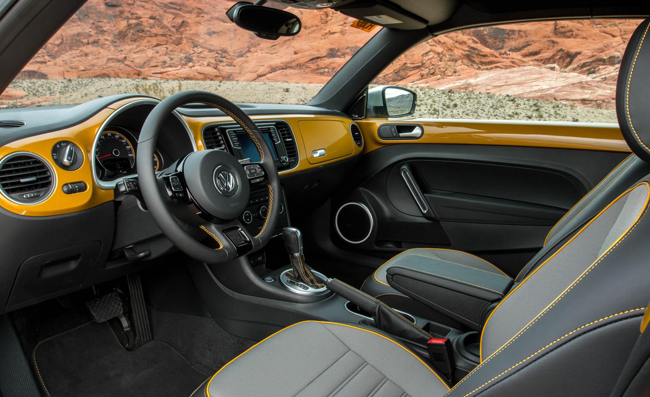 2016 Volkswagen Beetle Dune Interior (View 4 of 32)
