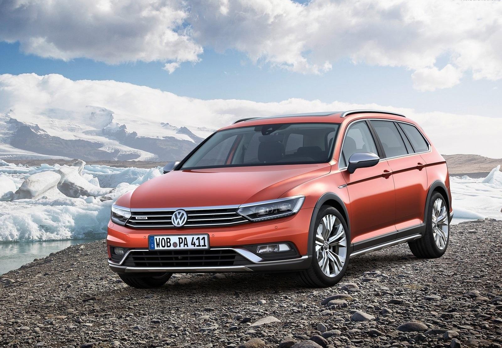 2016 Volkswagen Passat Alltrack Front Exterior Preview (View 18 of 18)
