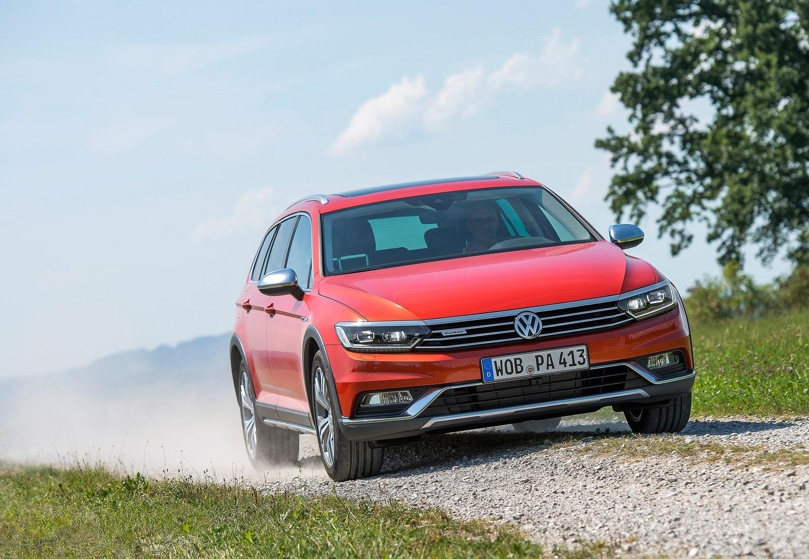 2016 Volkswagen Passat Alltrack Off Road Test (Photo 11 of 18)