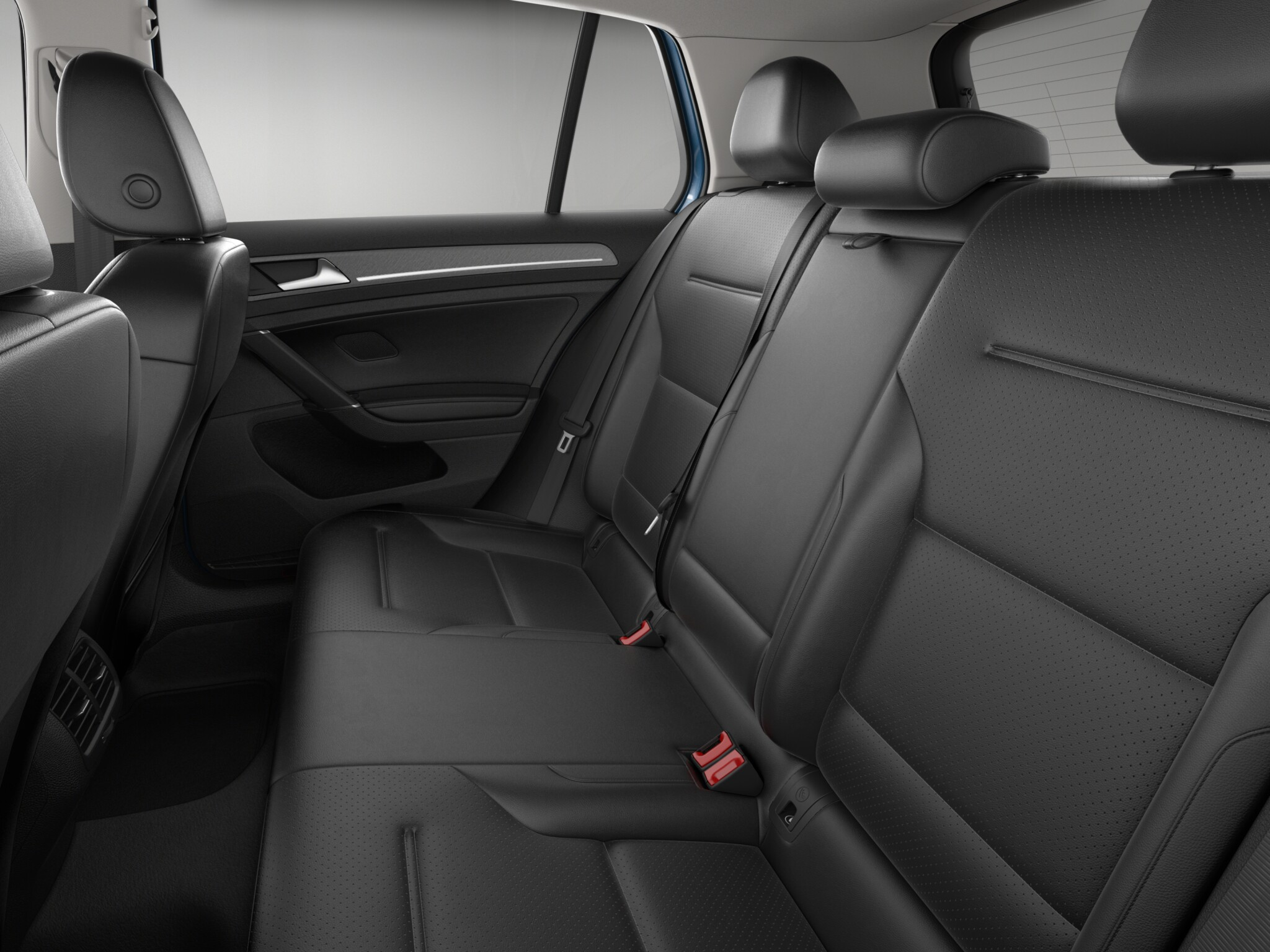 2016 Volkswagen E Golf Rear Seats Interior (Photo 10 of 11)