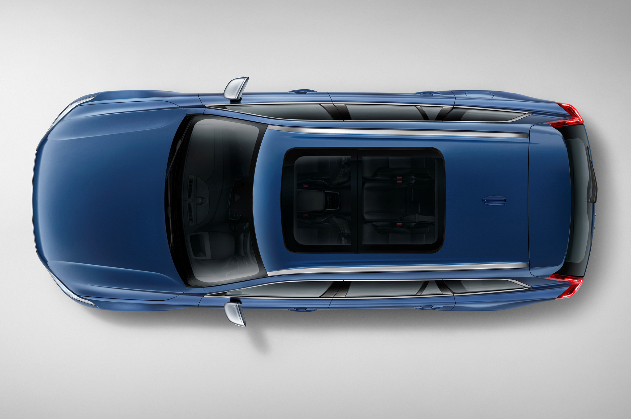 2016 Volvo Xc90 R Design Top View (Photo 8 of 18)