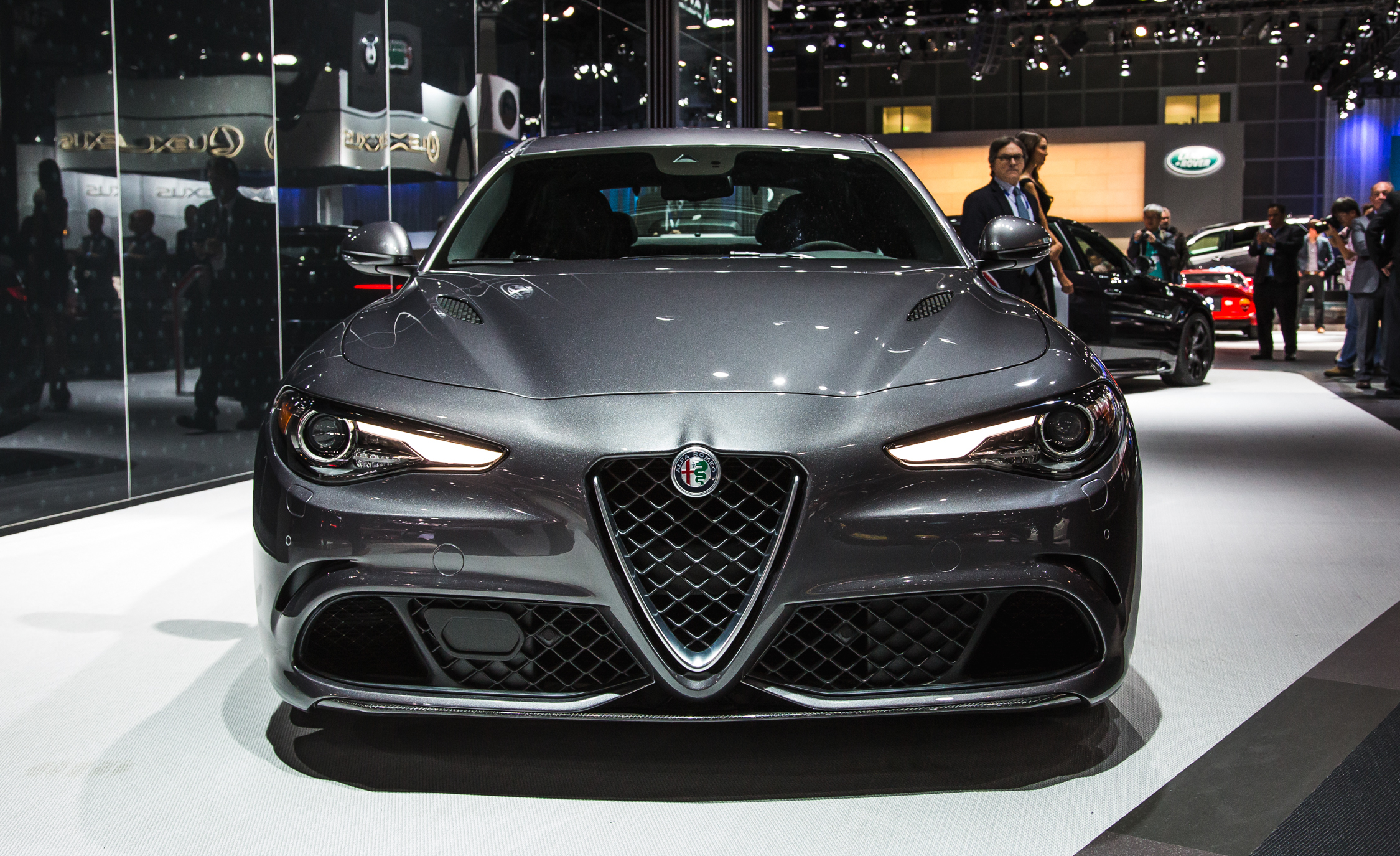 2017 Alfa Romeo Giulia Quadrifoglio Front End Exterior (Photo 20 of 29)