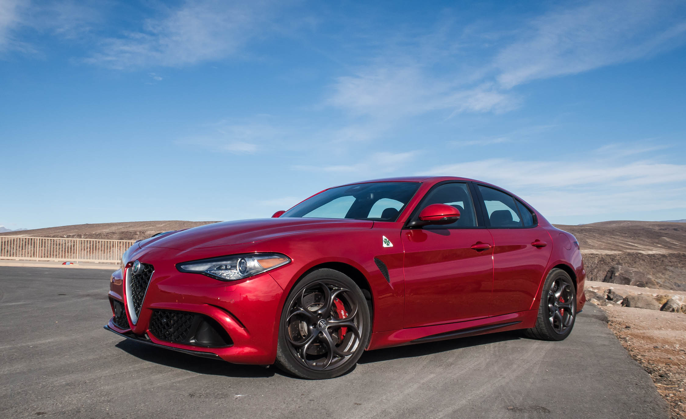 2017 Alfa Romeo Giulia Quadrifoglio (Photo 11 of 29)