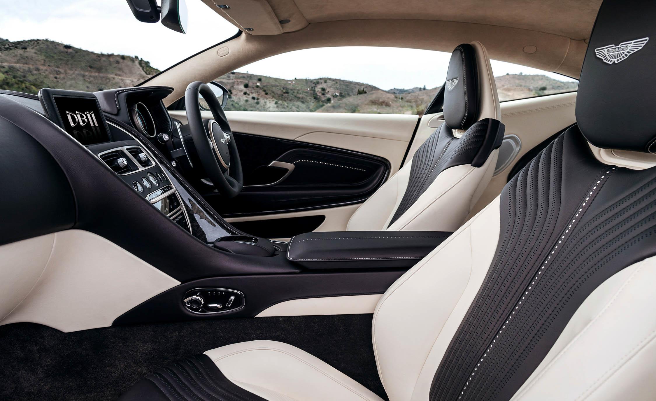 2017 Aston Martin Db11 Interior Seats (View 15 of 22)