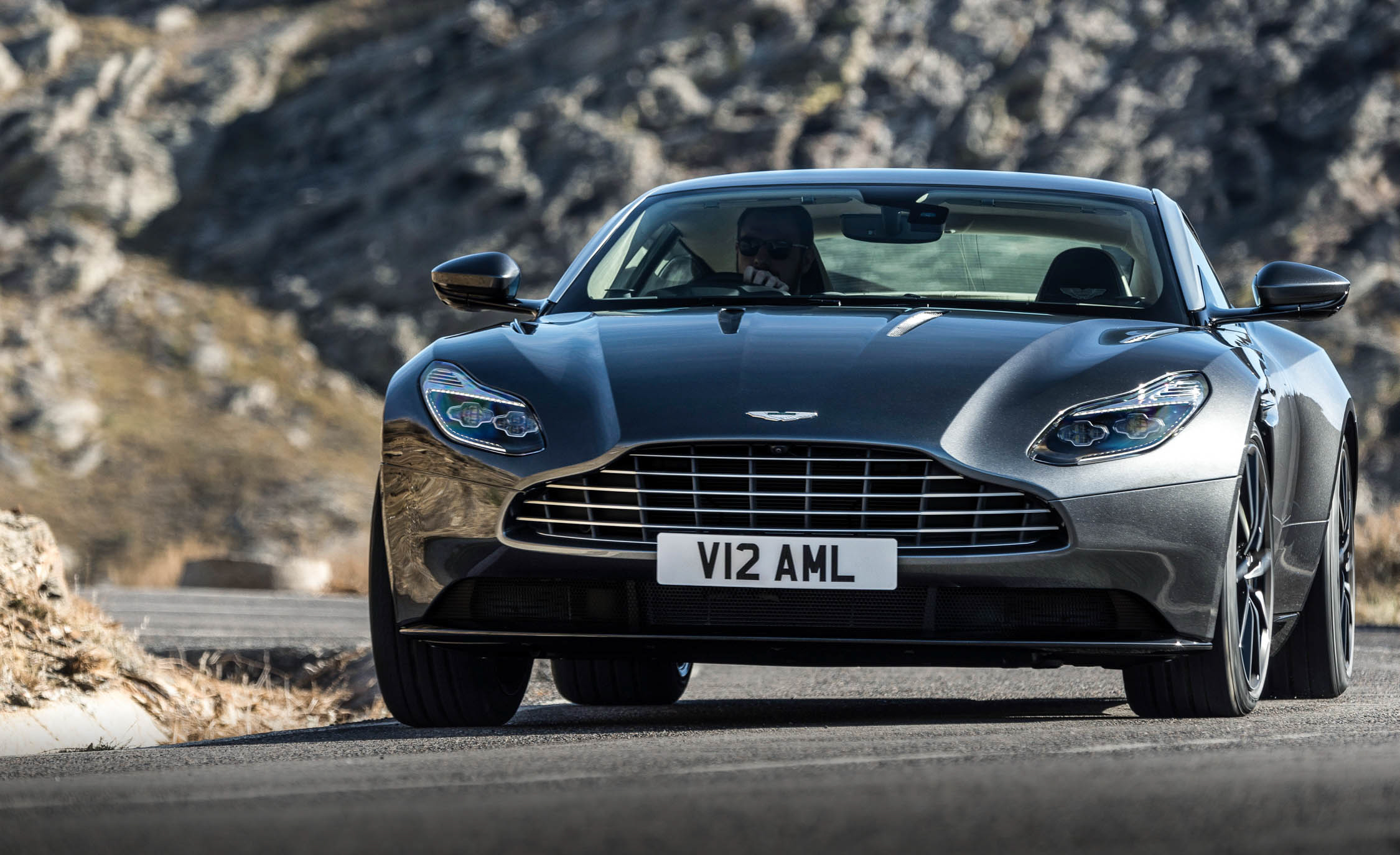 2017 Aston Martin Db11 Exterior Front View (View 20 of 22)