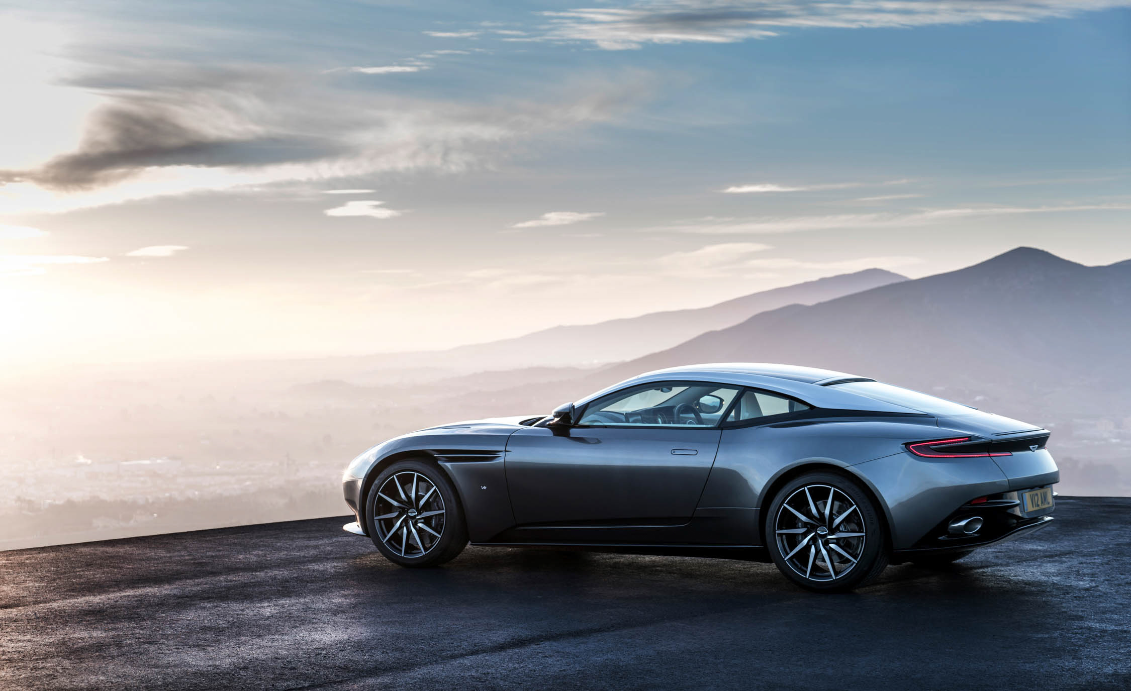 2017 Aston Martin Db11 Exterior Rear And Side View (Photo 6 of 22)